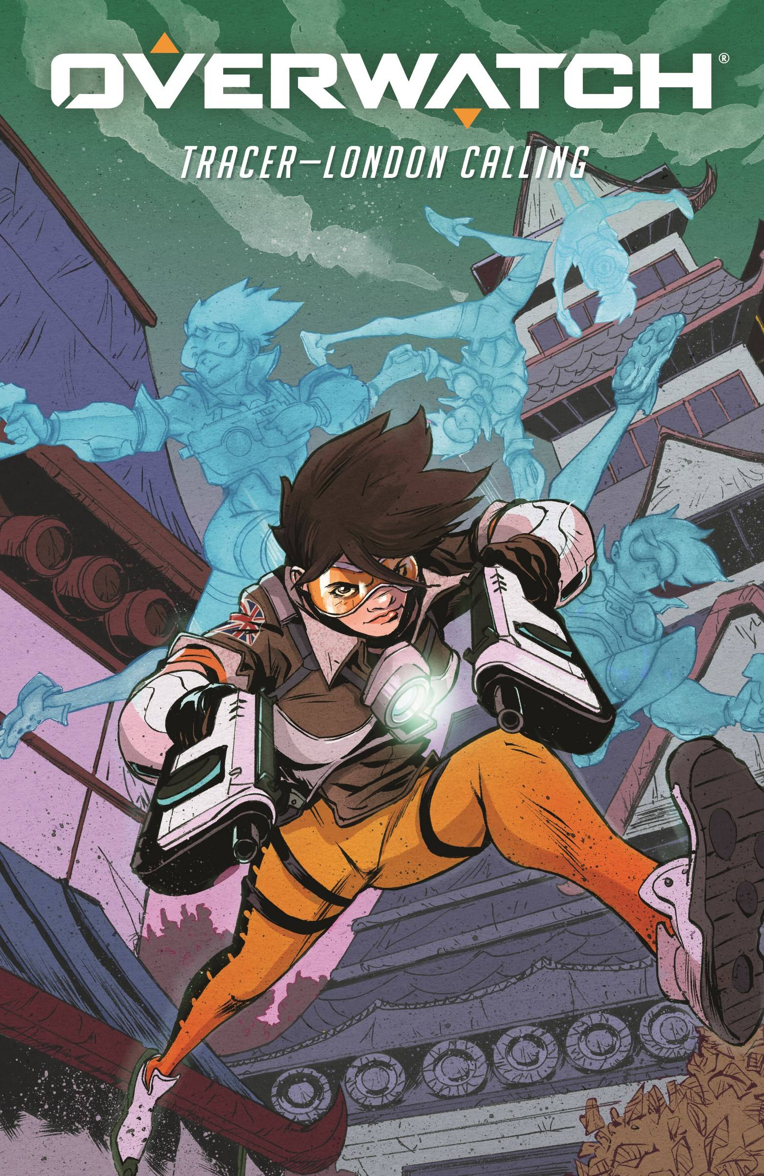 OVERWATCH TRACER LONDON CALLING #5 (OF 5) CVR B GREENE