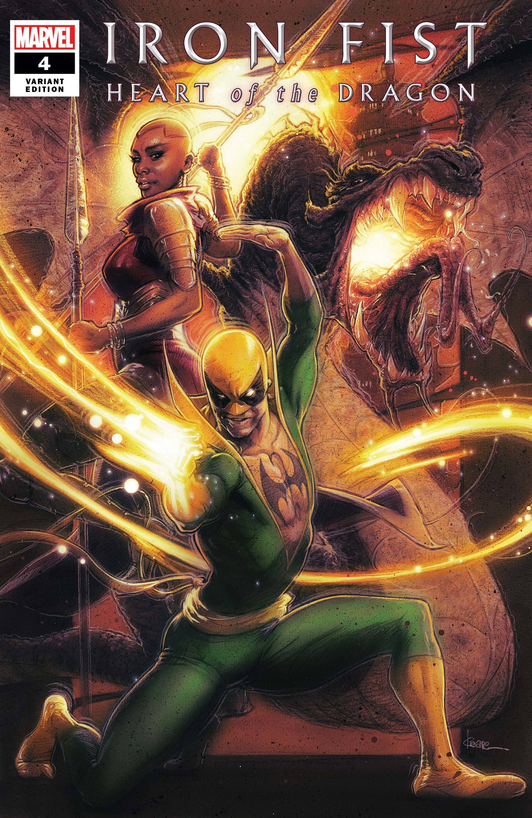 IRON FIST HEART OF DRAGON #4 (OF 6) ANDREWS VAR