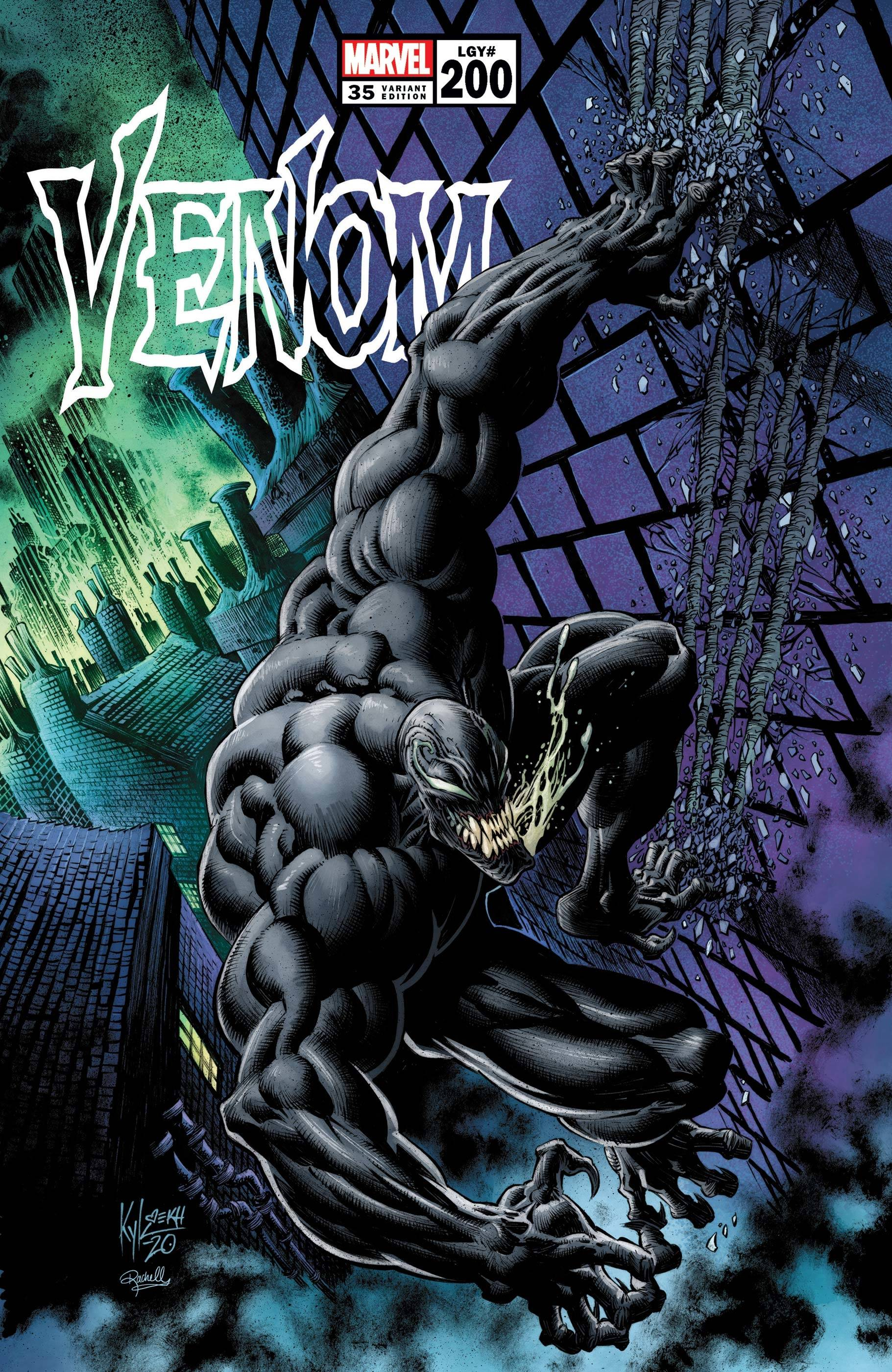 VENOM #35 HOTZ HANS VAR 200TH ISSUE
