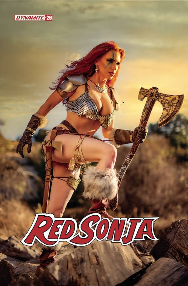 RED SONJA #26 CVR E GRACIE COSPLAY