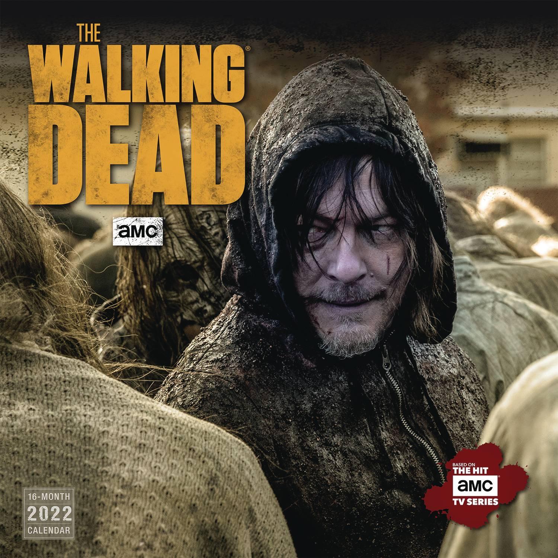 Walking Dead 2022 Calendar.Mar211568 Walking Dead Amc 2022 Wall Calendar Previews World