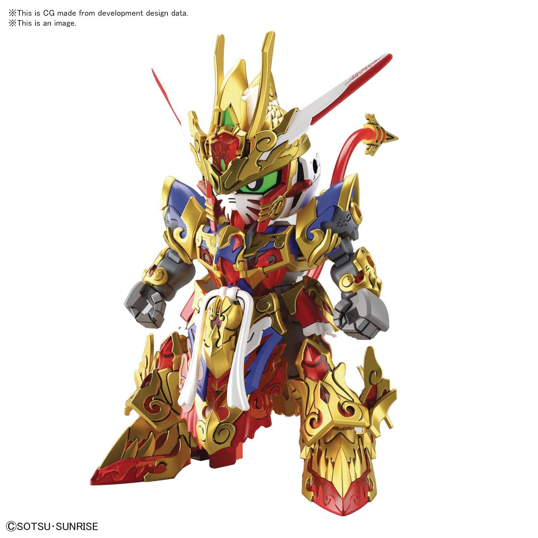 SD GUNDAM WORLD HEROES 01 WUKONG IMPULSE GUNDAM MODEL KIT (N