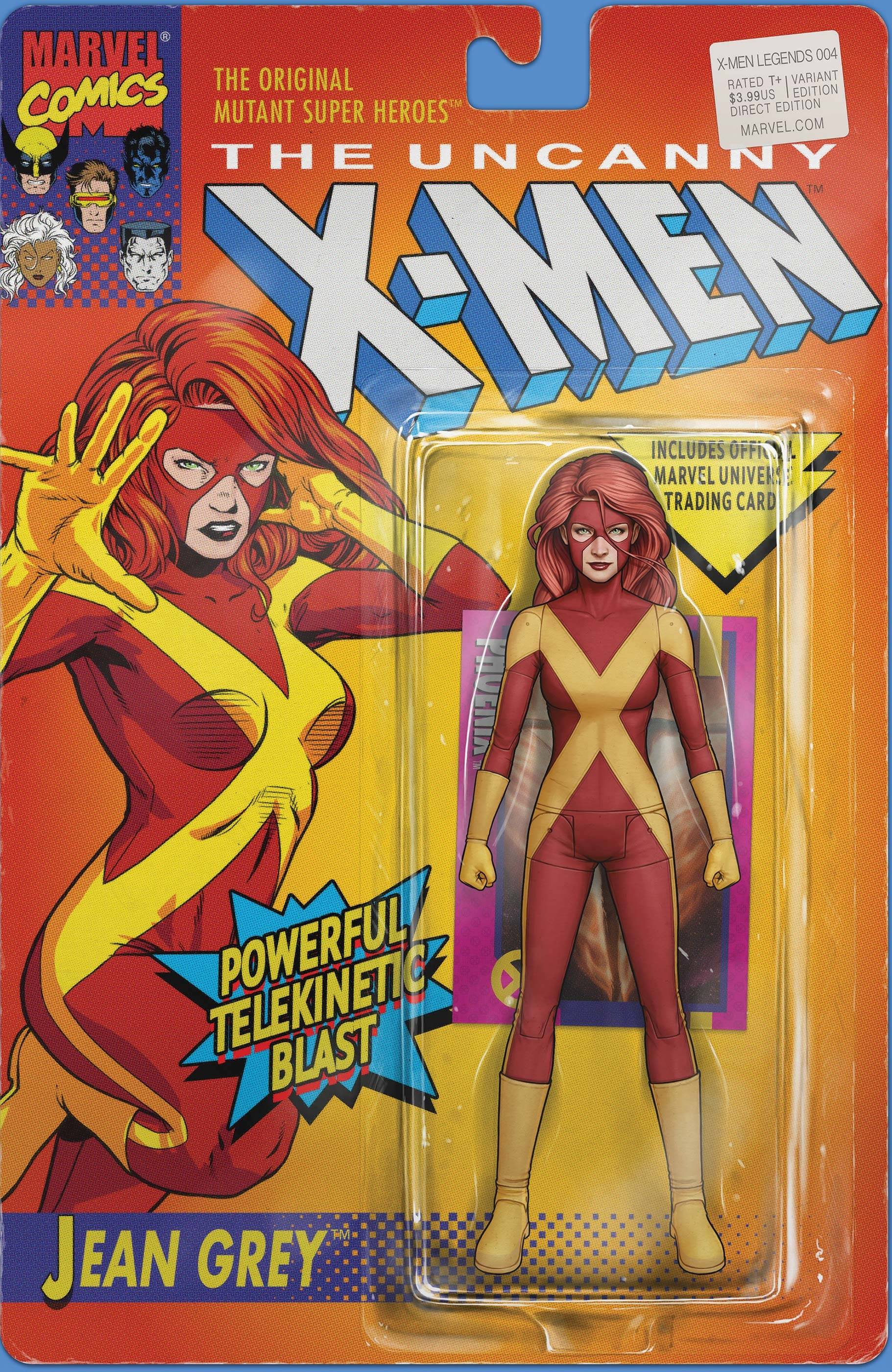 X-MEN LEGENDS #4 CHRISTOPHER ACTION FIGURE VAR