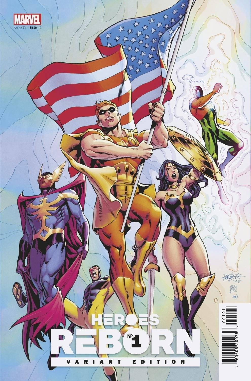 HEROES REBORN #1 (OF 7) PACHECO SQUADRON SUPREME VAR