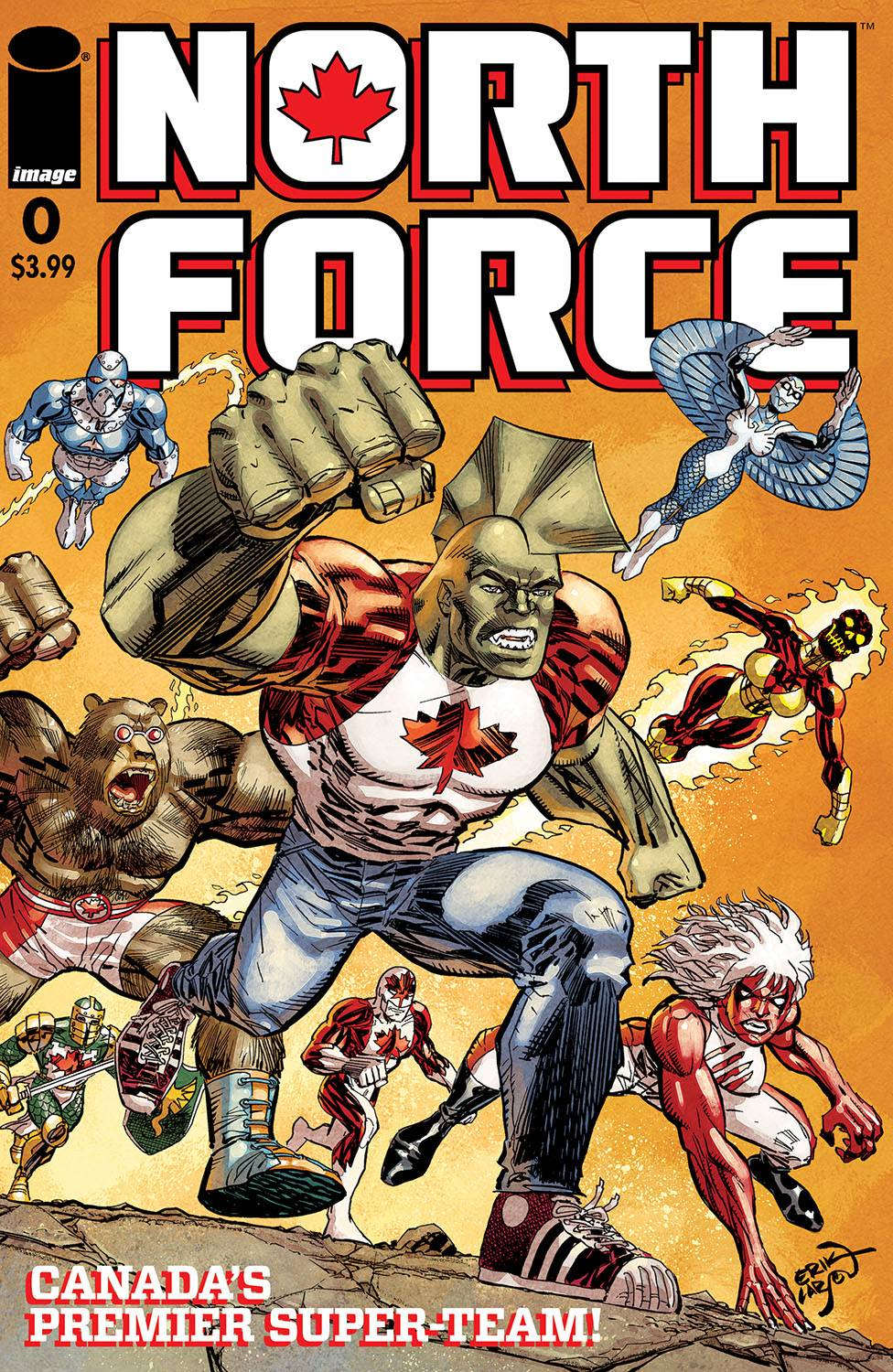 NORTH FORCE #0 (MR)