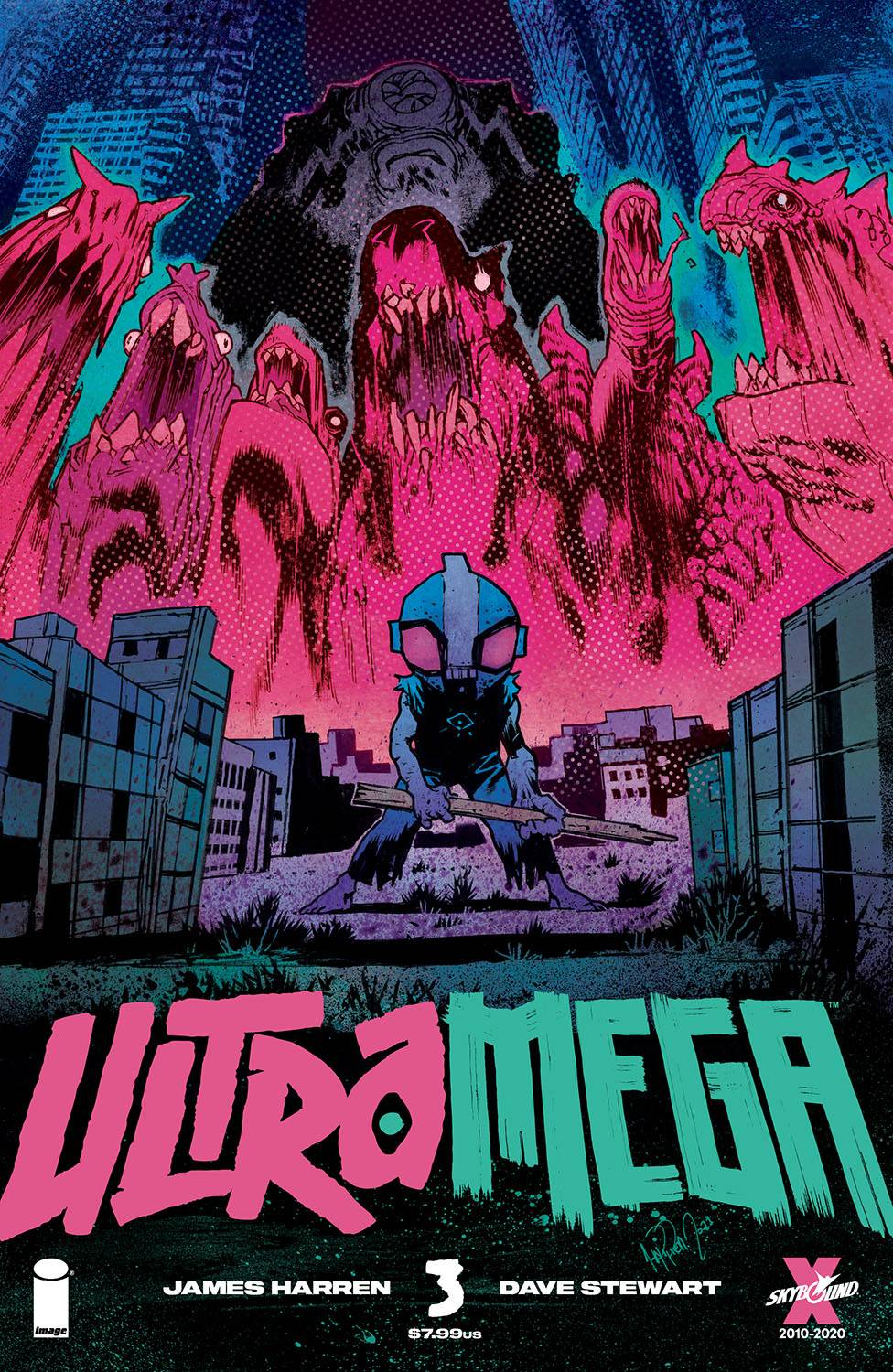 ULTRAMEGA BY JAMES HARREN #3 CVR A HARREN (MR)