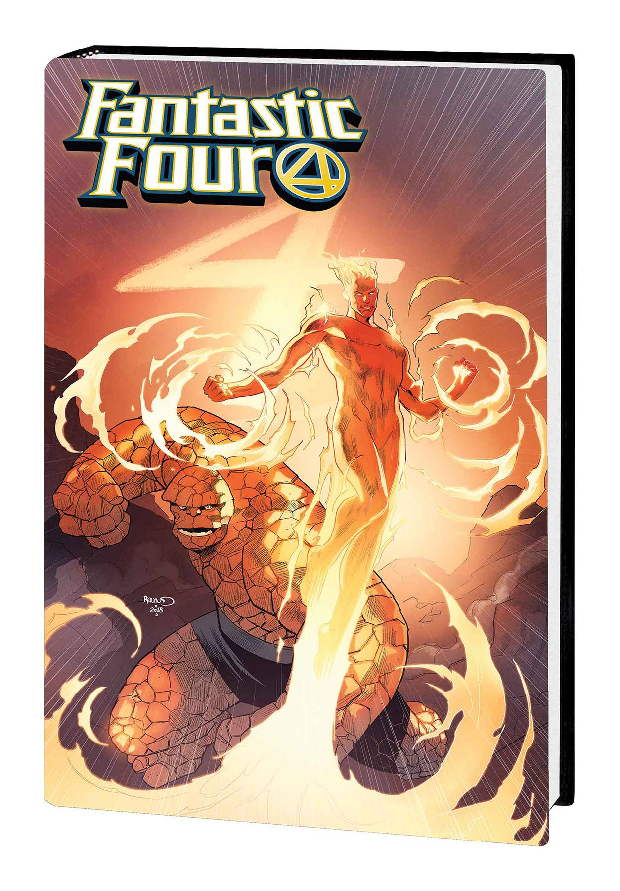 FANTASTIC FOUR HC FATE OF FOUR