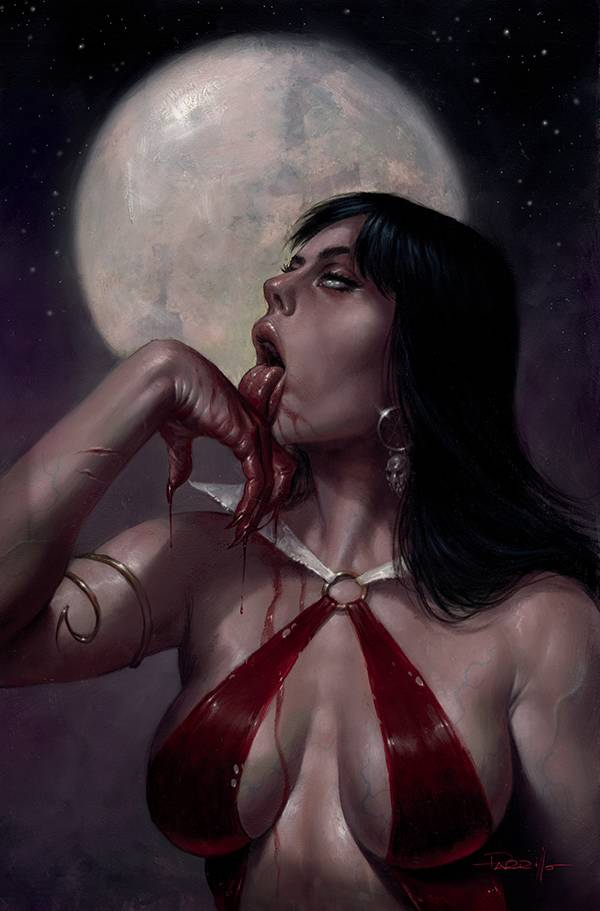 VAMPIRELLA #21 PARRILLO LTD VIRGIN CVR