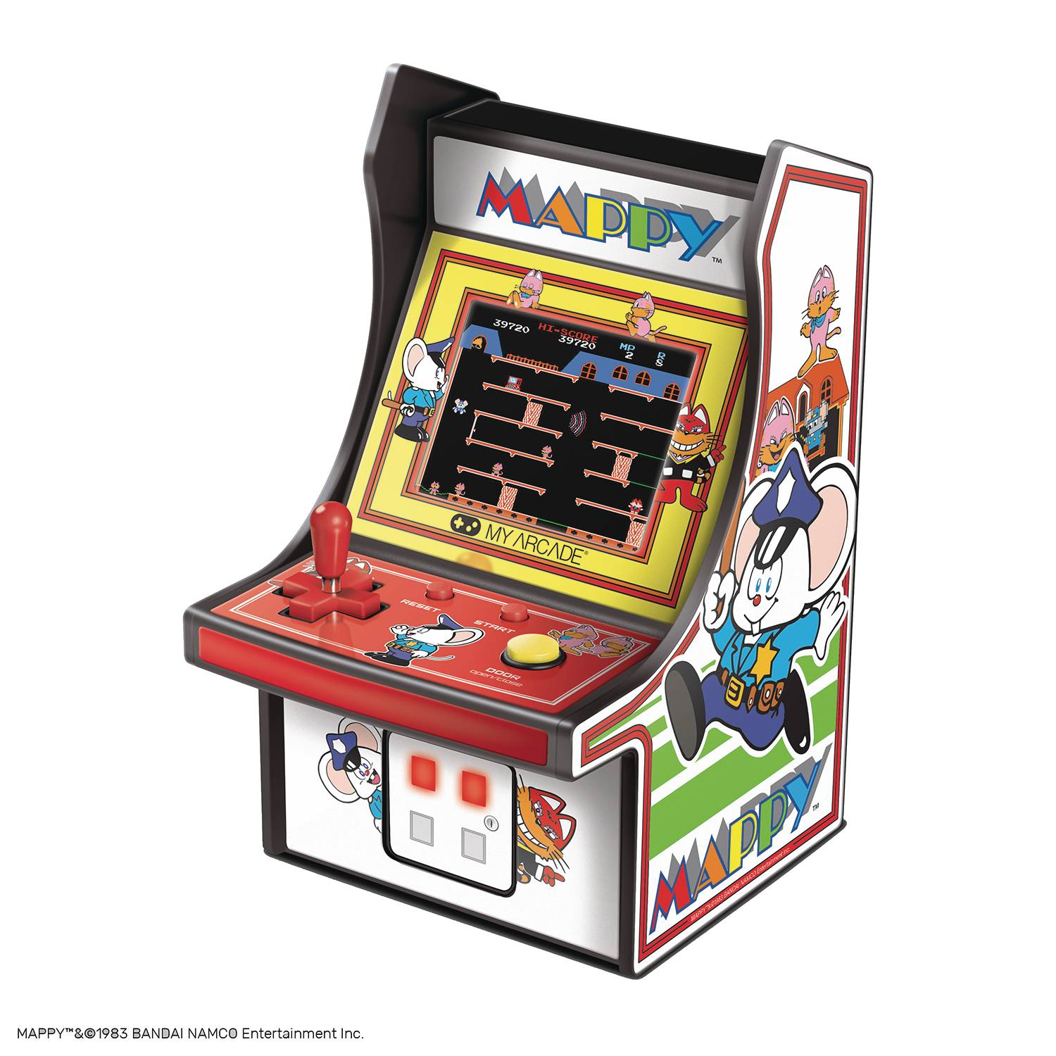 MAPPY RETRO 6.75IN MICRO PLAYER
