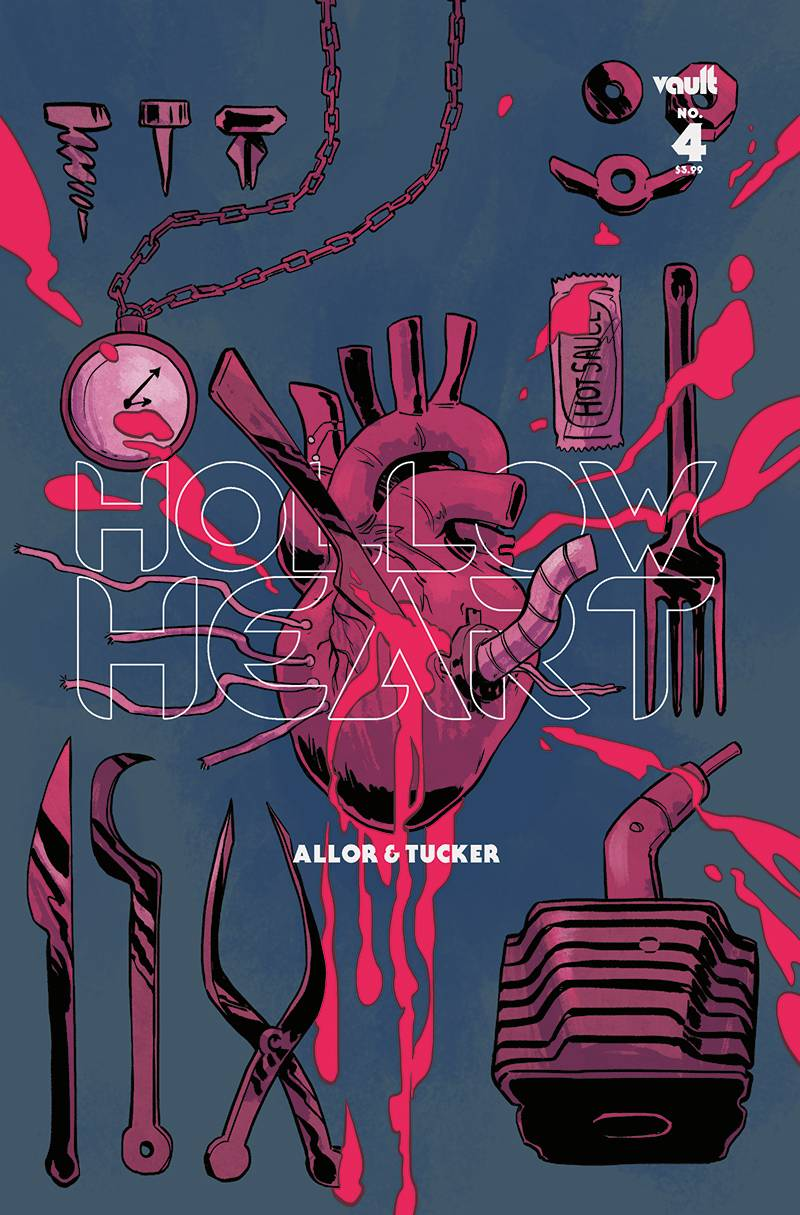 HOLLOW HEART #4 CVR B HICKMAN