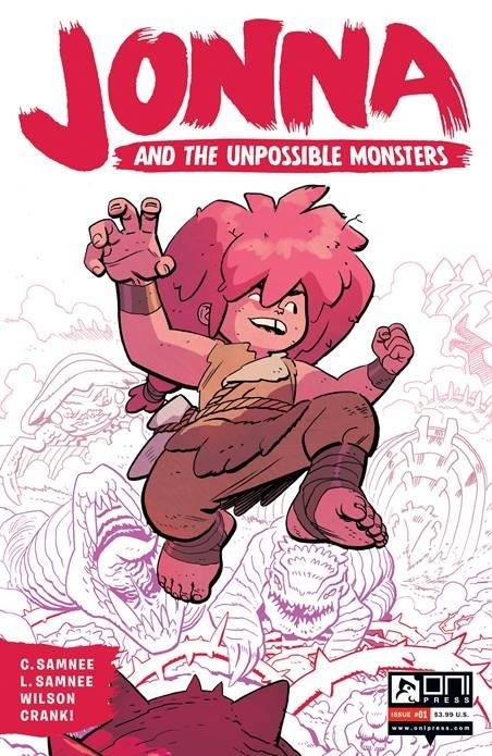 JONNA AND THE UNPOSSIBLE MONSTERS #1 CVR G 2ND PTG