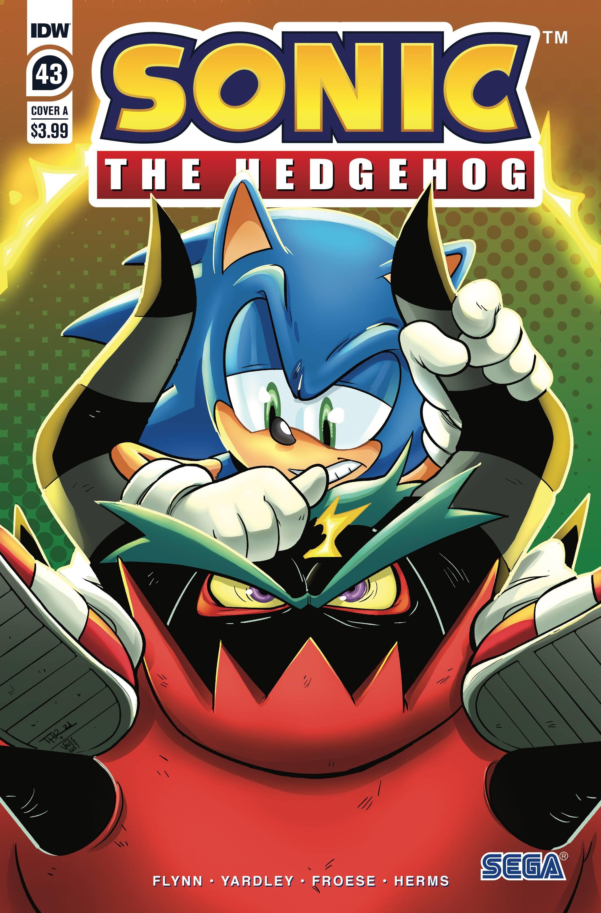 IDW Sonic the Hedgehog - przegląd numeru 43-ego