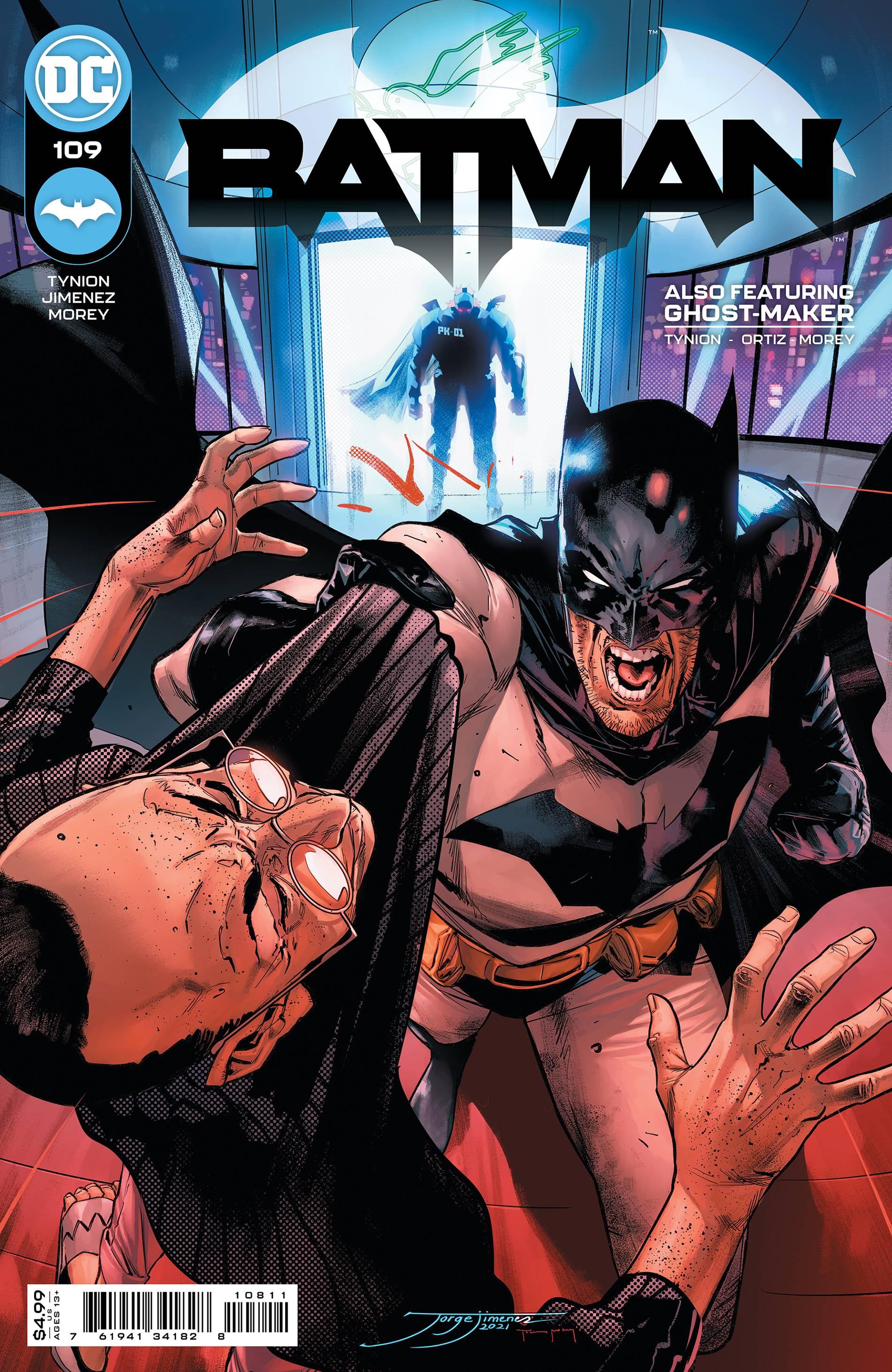 BATMAN #109 CVR A JIMENEZ (MR)