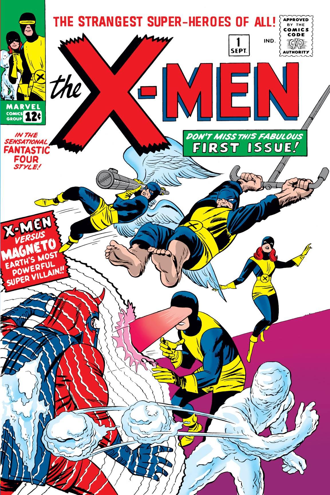 MIGHTY MMW X-MEN STRANGEST SUPER HEROES GN TP VOL 01 DM VAR