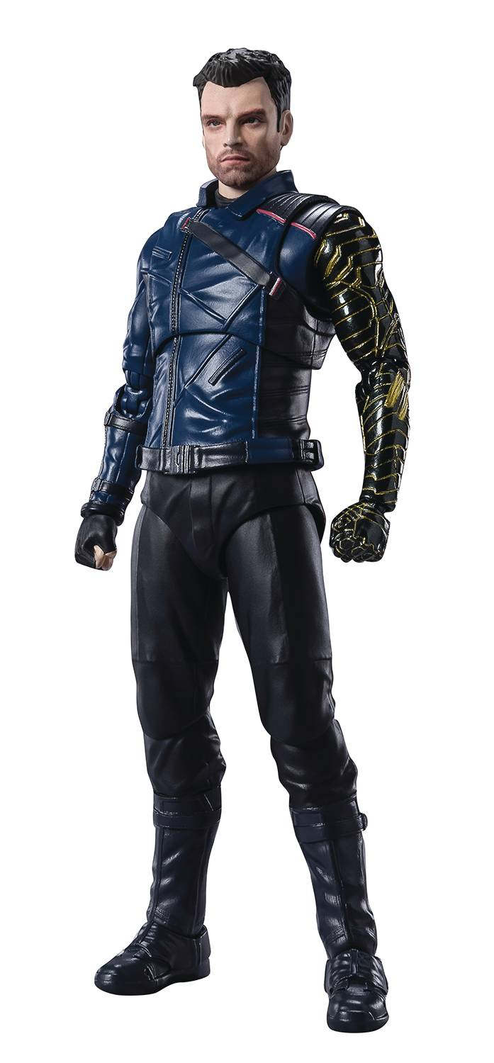 FALCON & WINTER SOLDIER BUCKY BARNES S.H.FIGUARTS AF  (