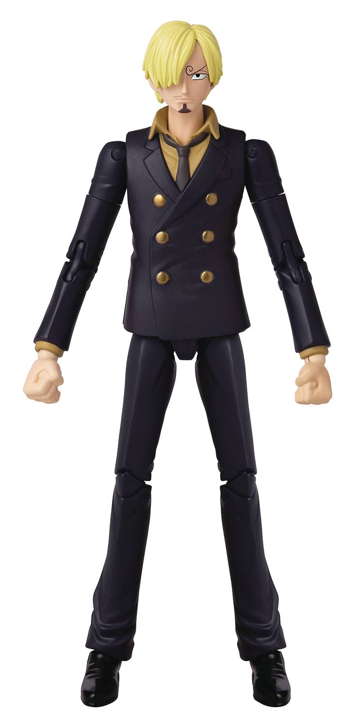 ANIME HEROES ONE PIECE SANJI 6.5 IN AF