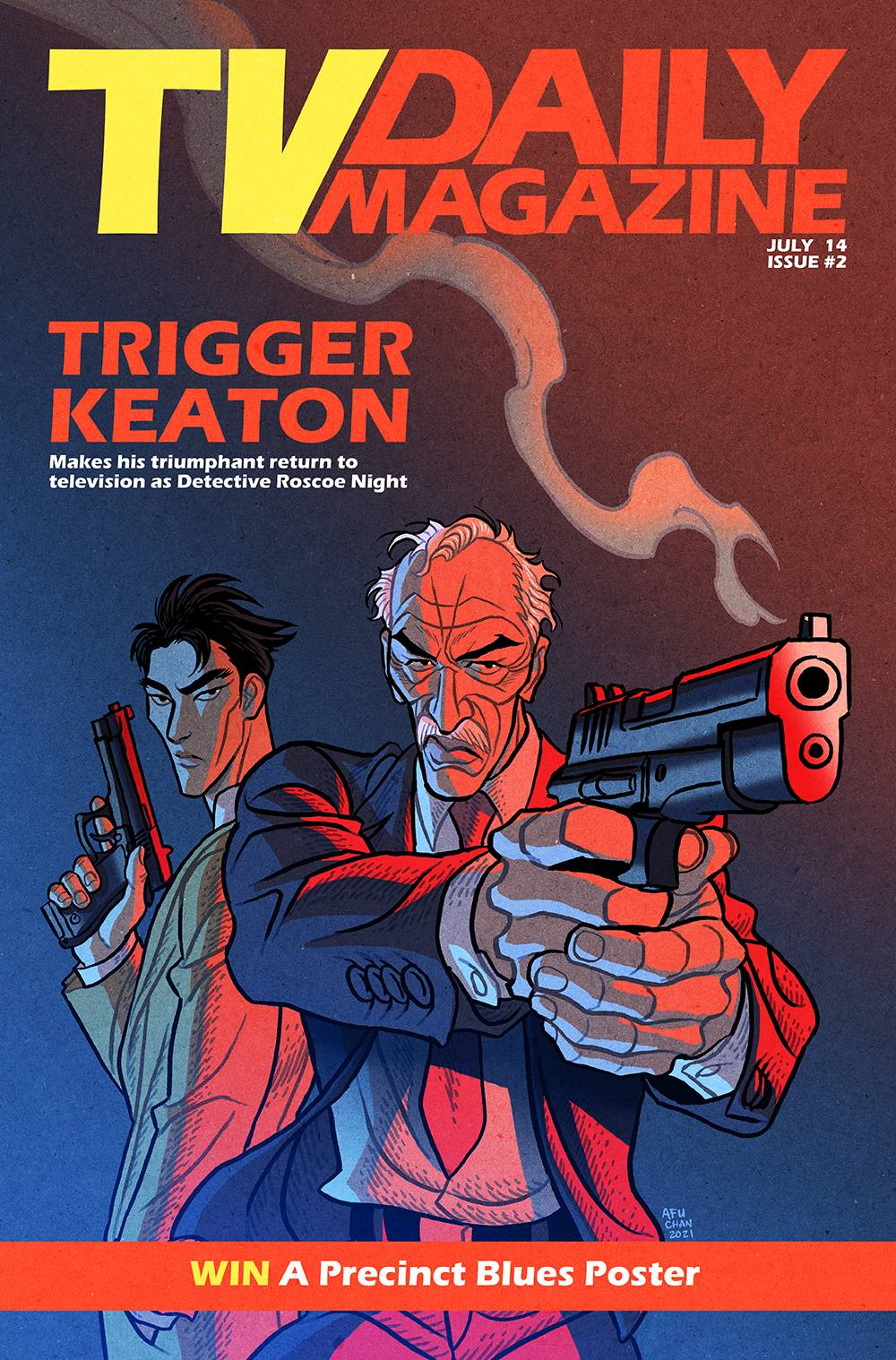 SIX SIDEKICKS OF TRIGGER KEATON #2 CVR B CHAN (MR)