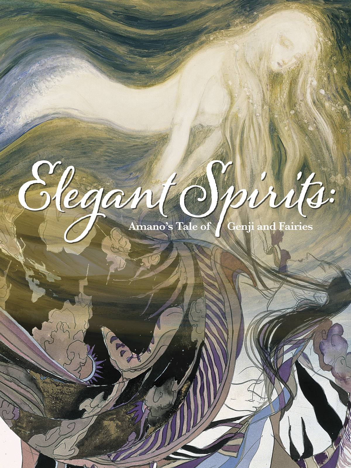 ELEGANT SPIRITS AMANOS TALE OF GENJI & FAIRIES HC