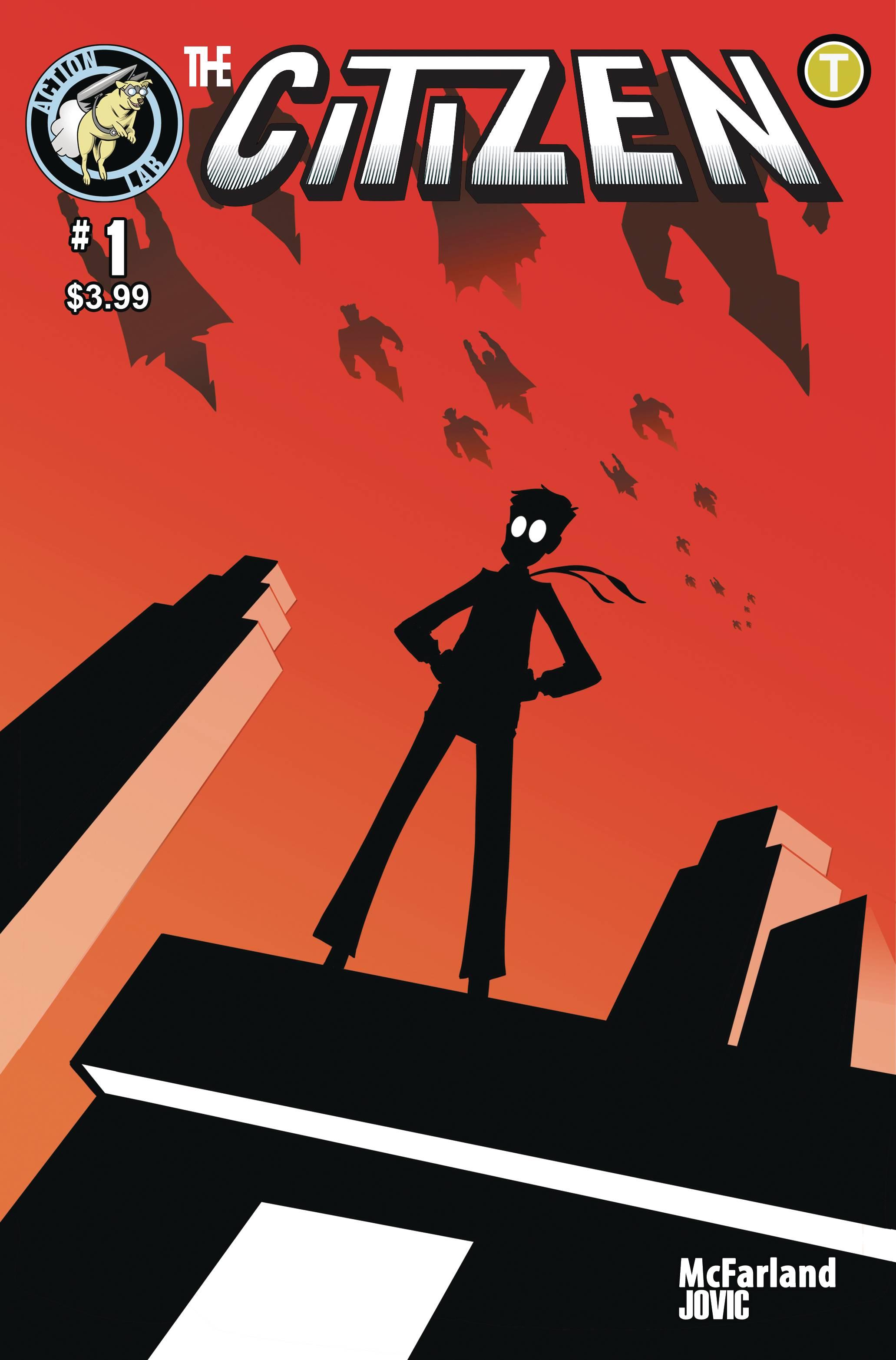 CITIZEN #1 Cover