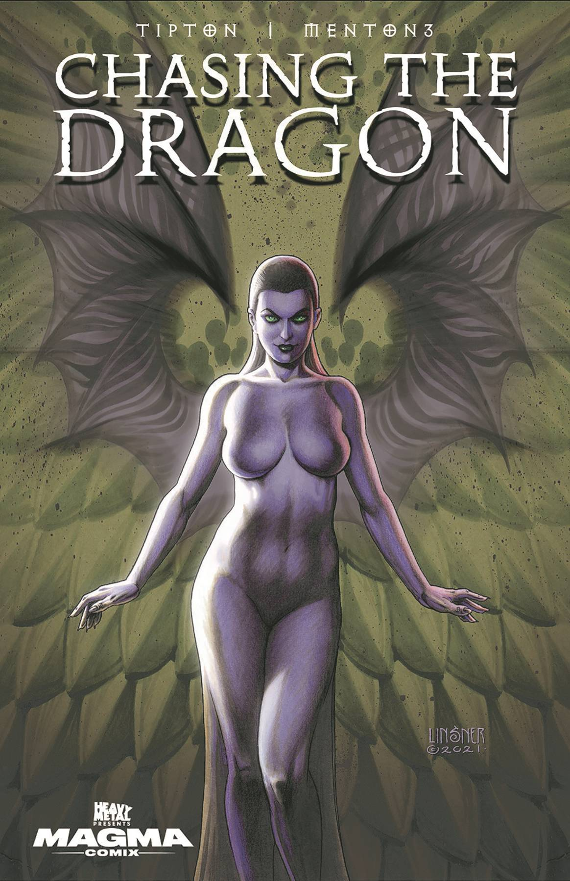 CHASING THE DRAGON #1 (OF 5) 2ND PTG LINSNER