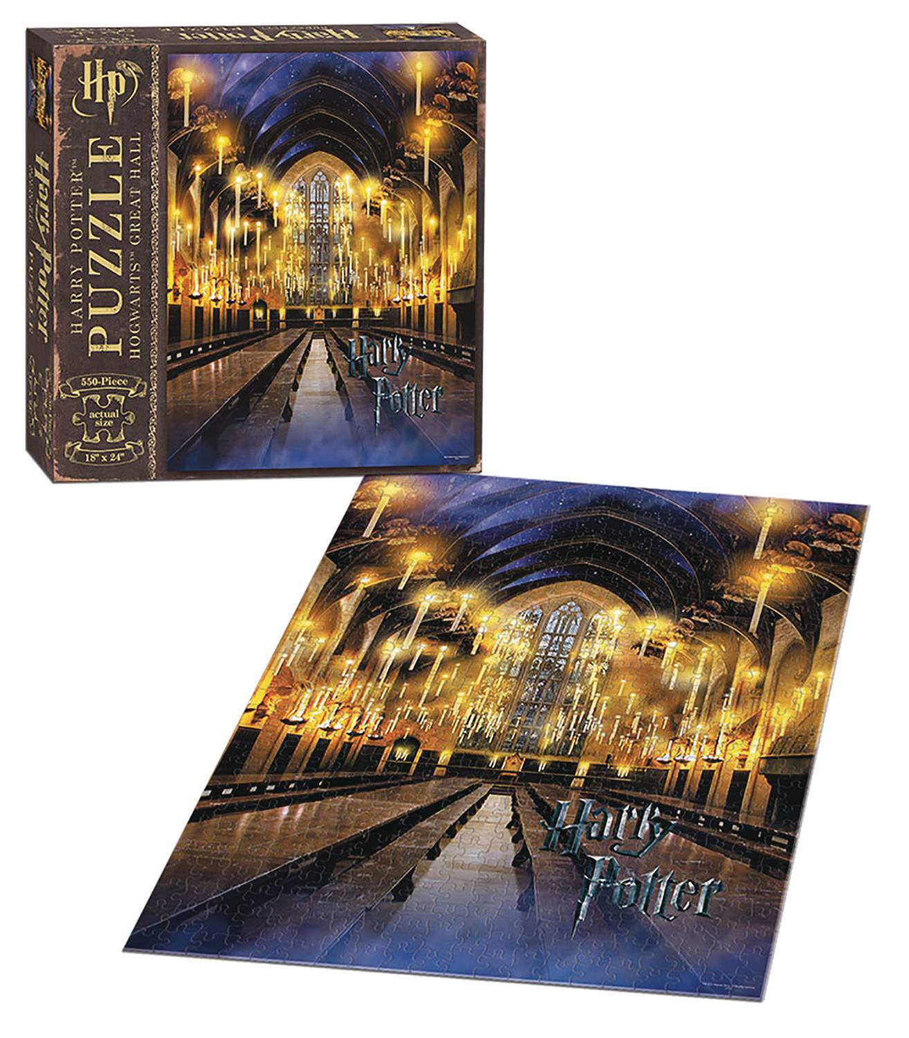HARRY POTTER GREAT HALL 1000 PC PUZZLE (APR218187)