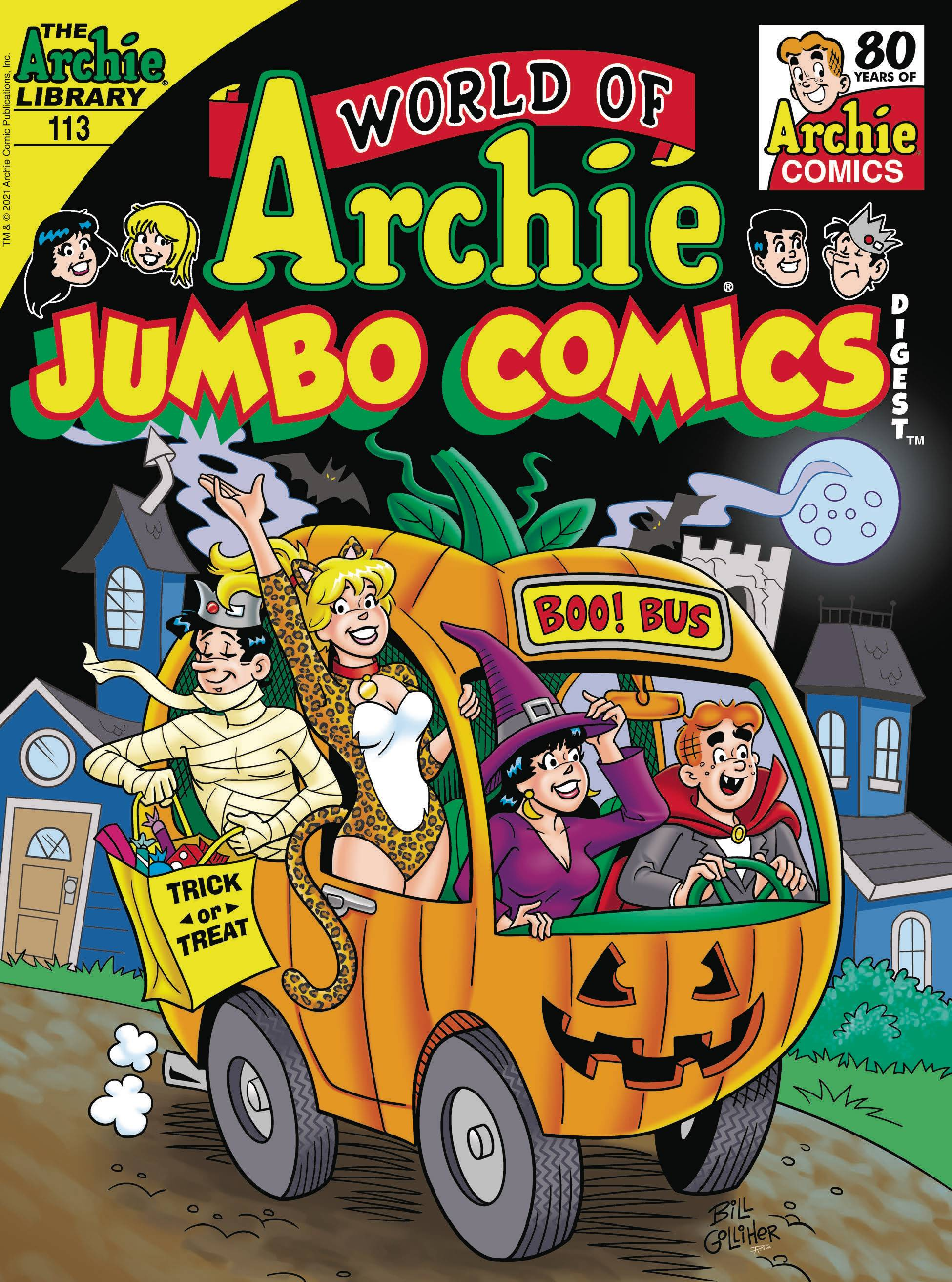 JUL211342 - WORLD OF ARCHIE JUMBO COMICS DIGEST #113 - Previews World