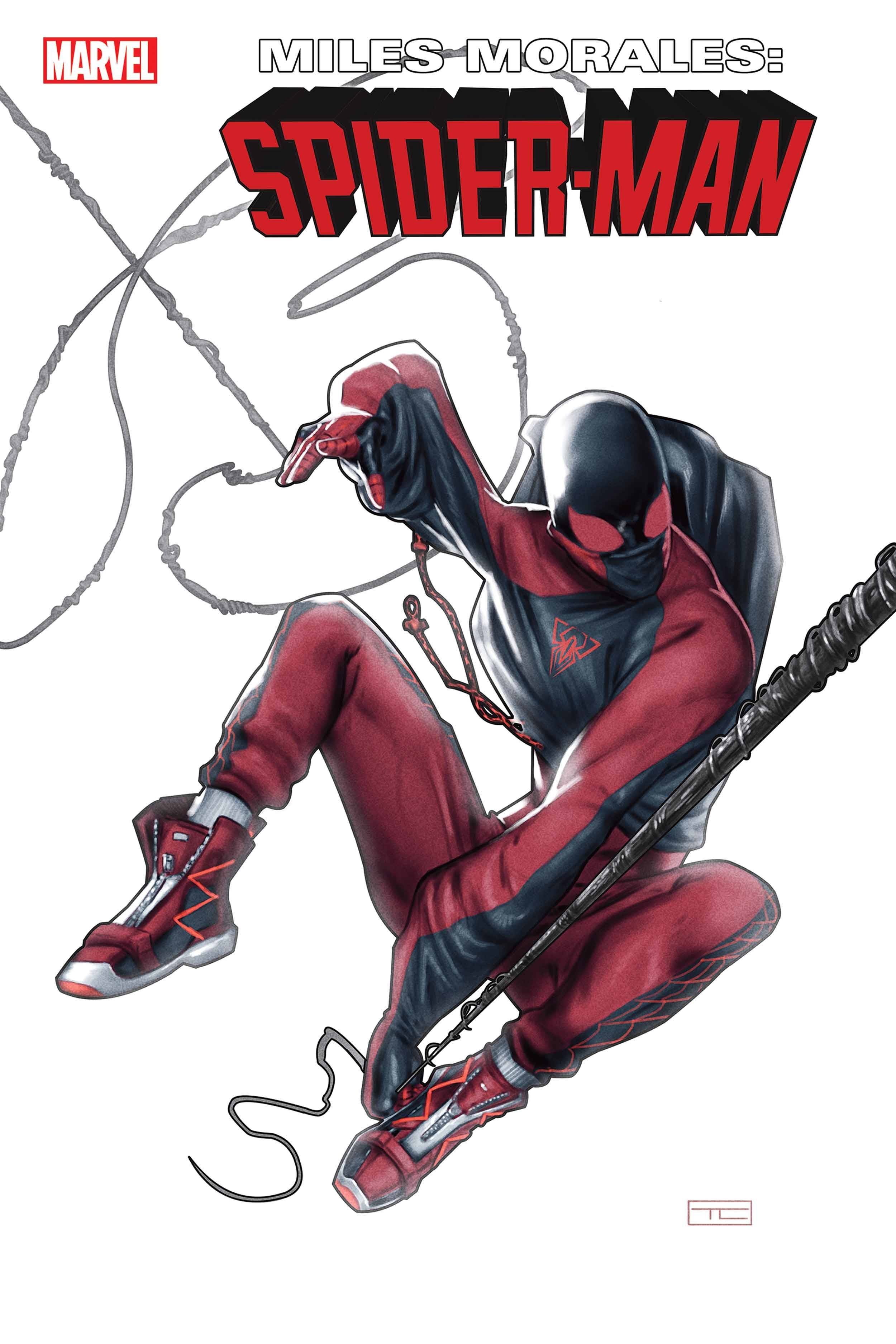 MILES MORALES SPIDER-MAN #30 Cover