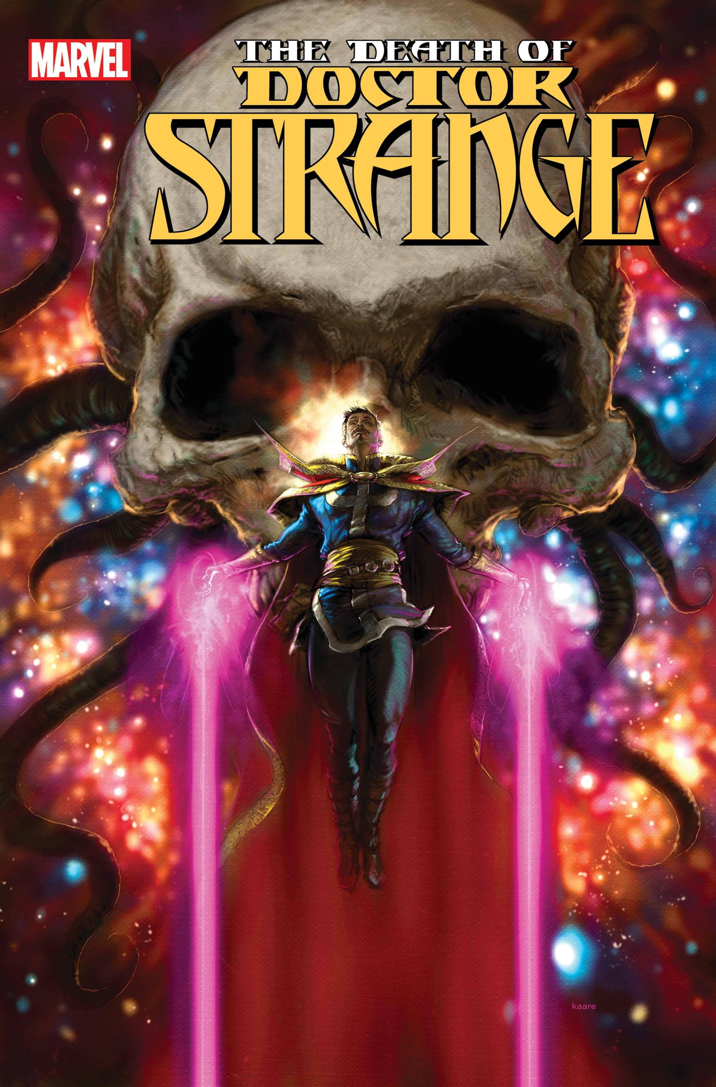 DEATH OF DOCTOR STRANGE #1 Cover