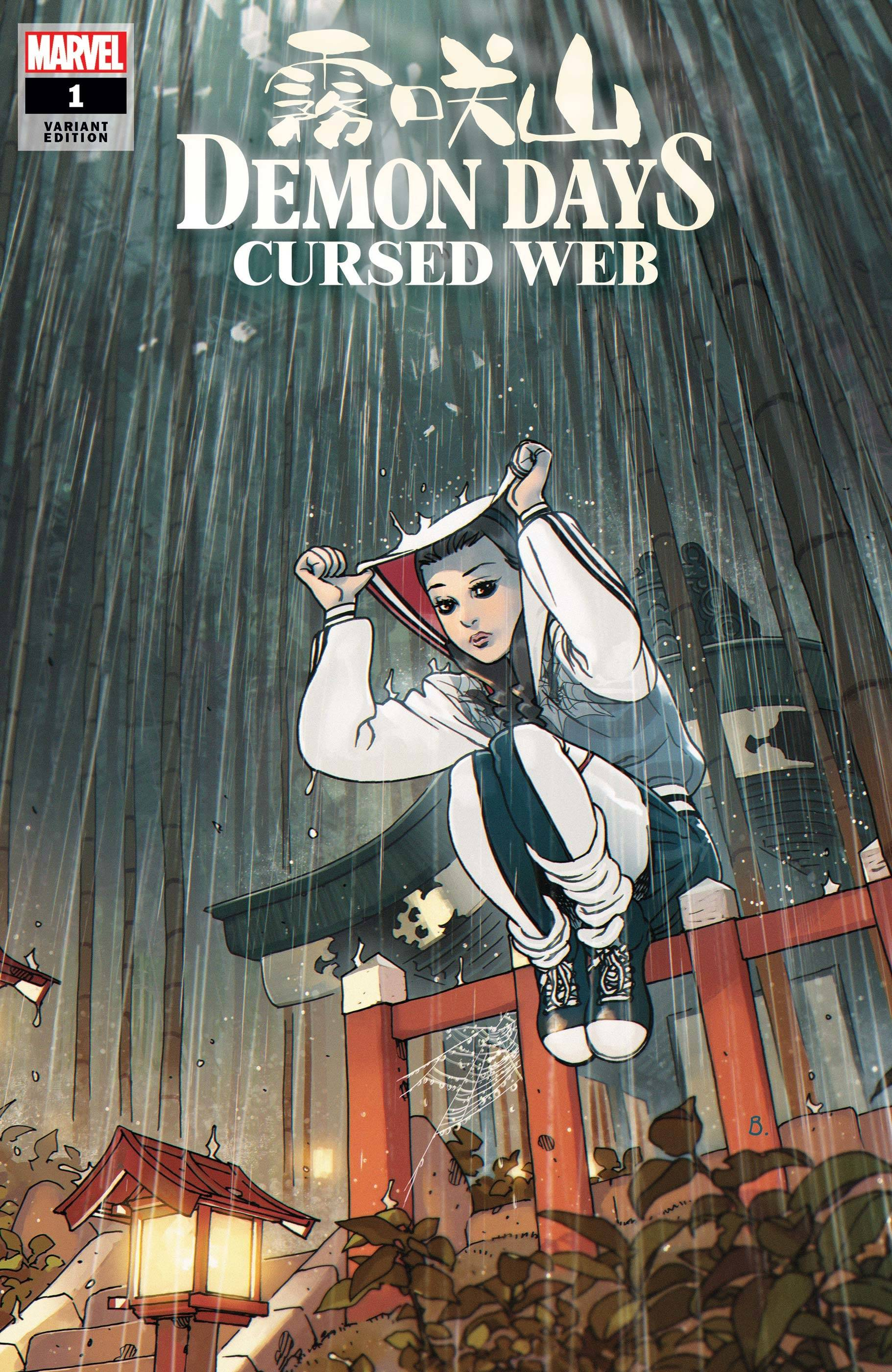 DEMON DAYS CURSED WEB #1 BENGAL VAR