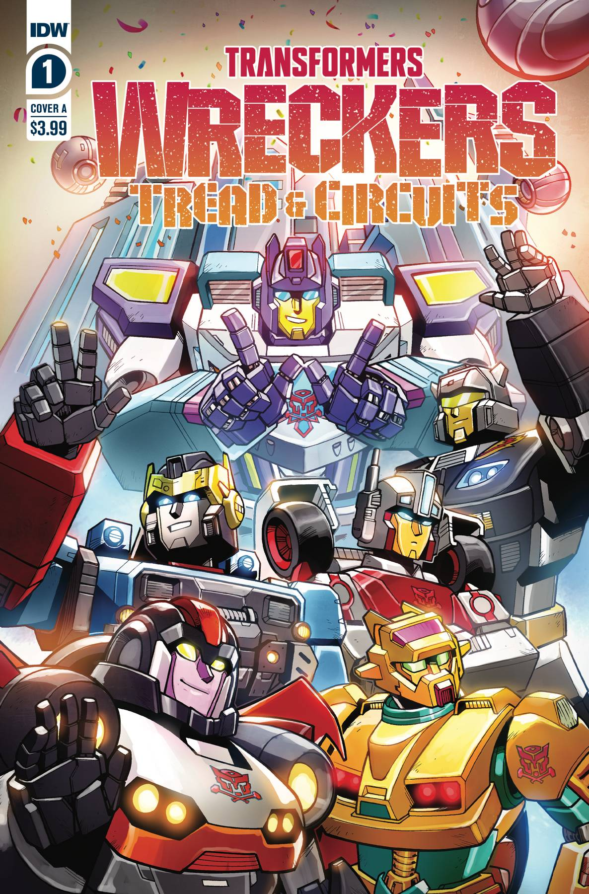 TRANSFORMERS WRECKERS TREAD & CIRCUITS #1 (OF 4)
