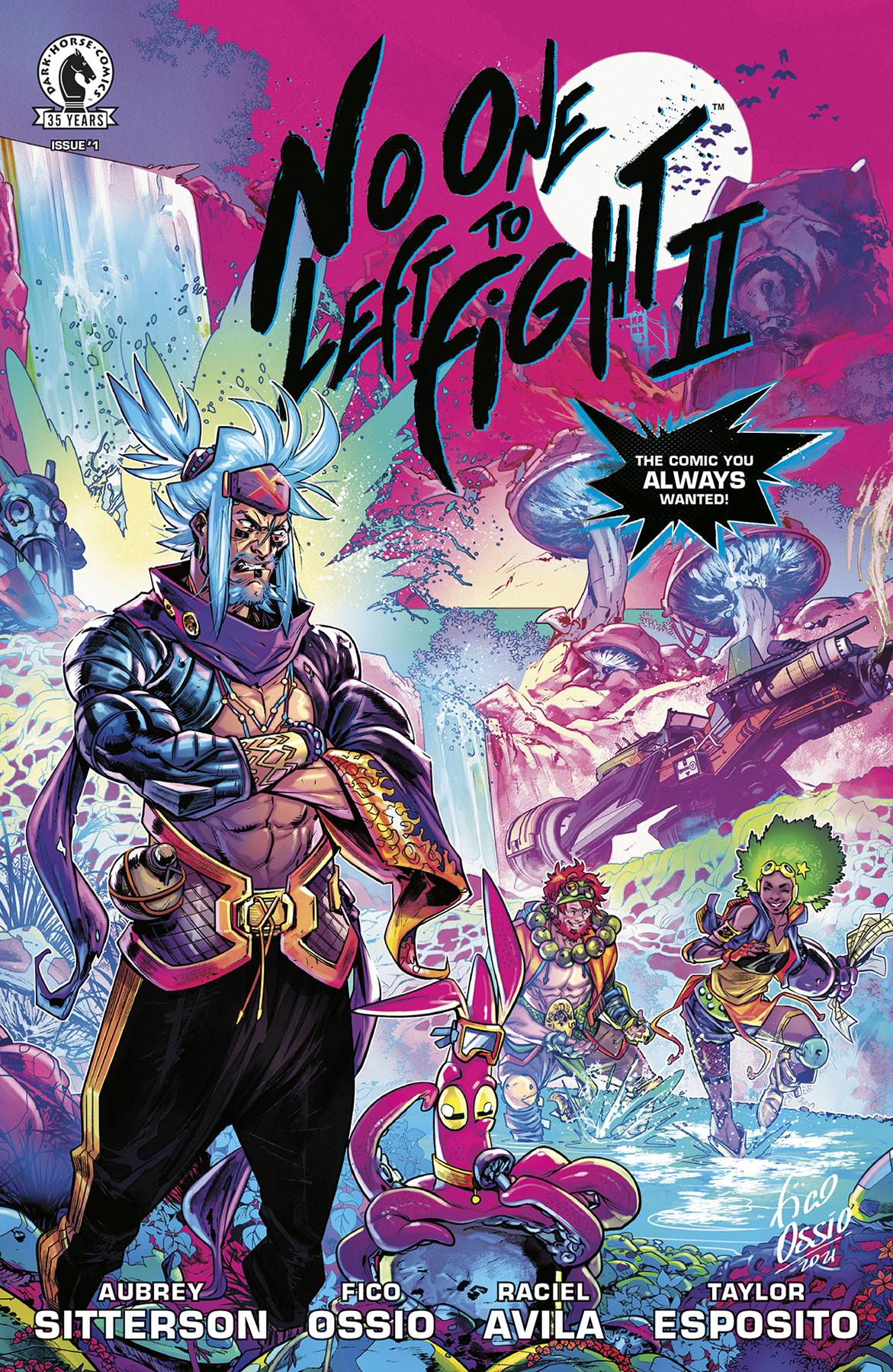 No One Left to Fight II #1 (of 5)
