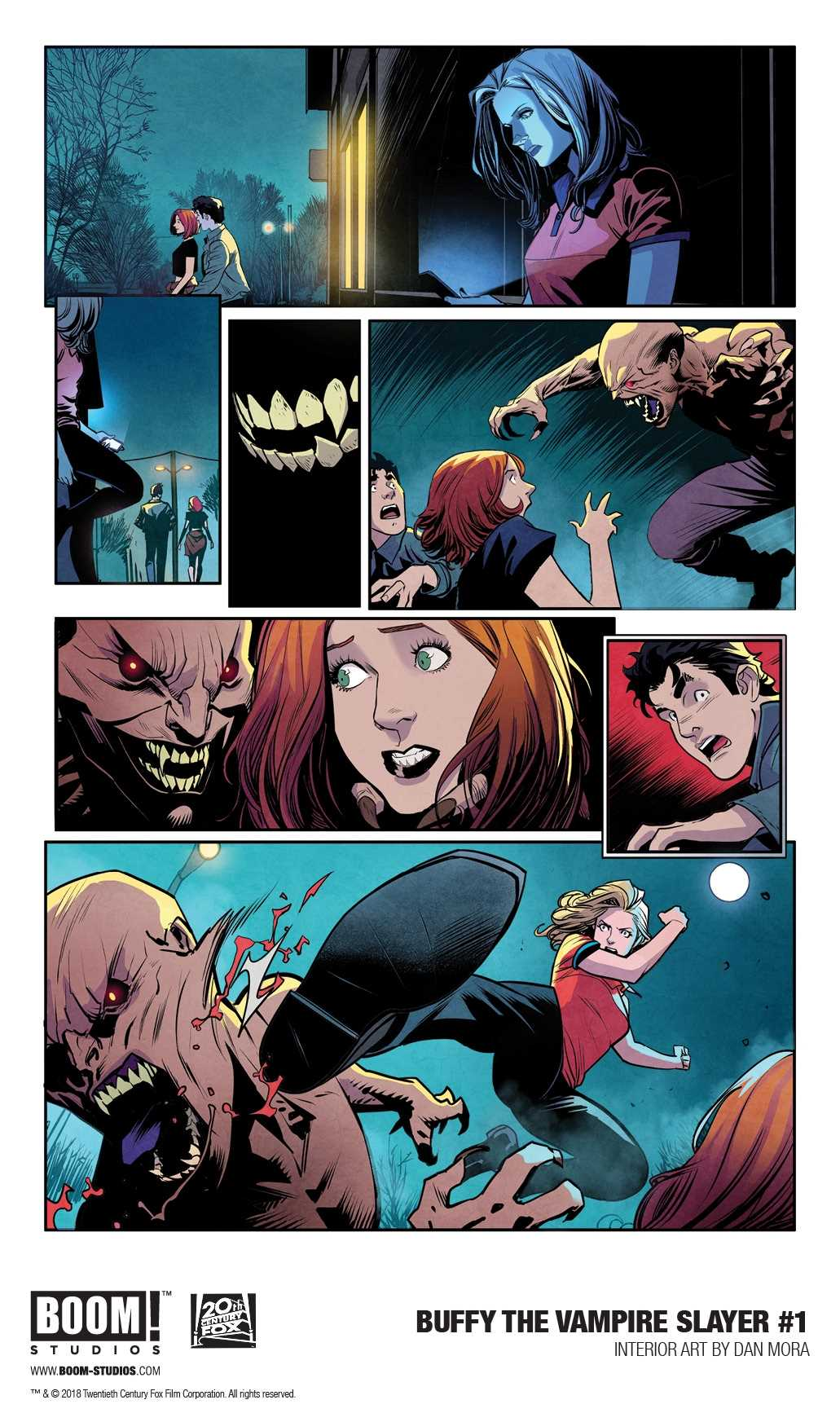 (USE DEC188260) BUFFY THE VAMPIRE SLAYER #1 MAIN