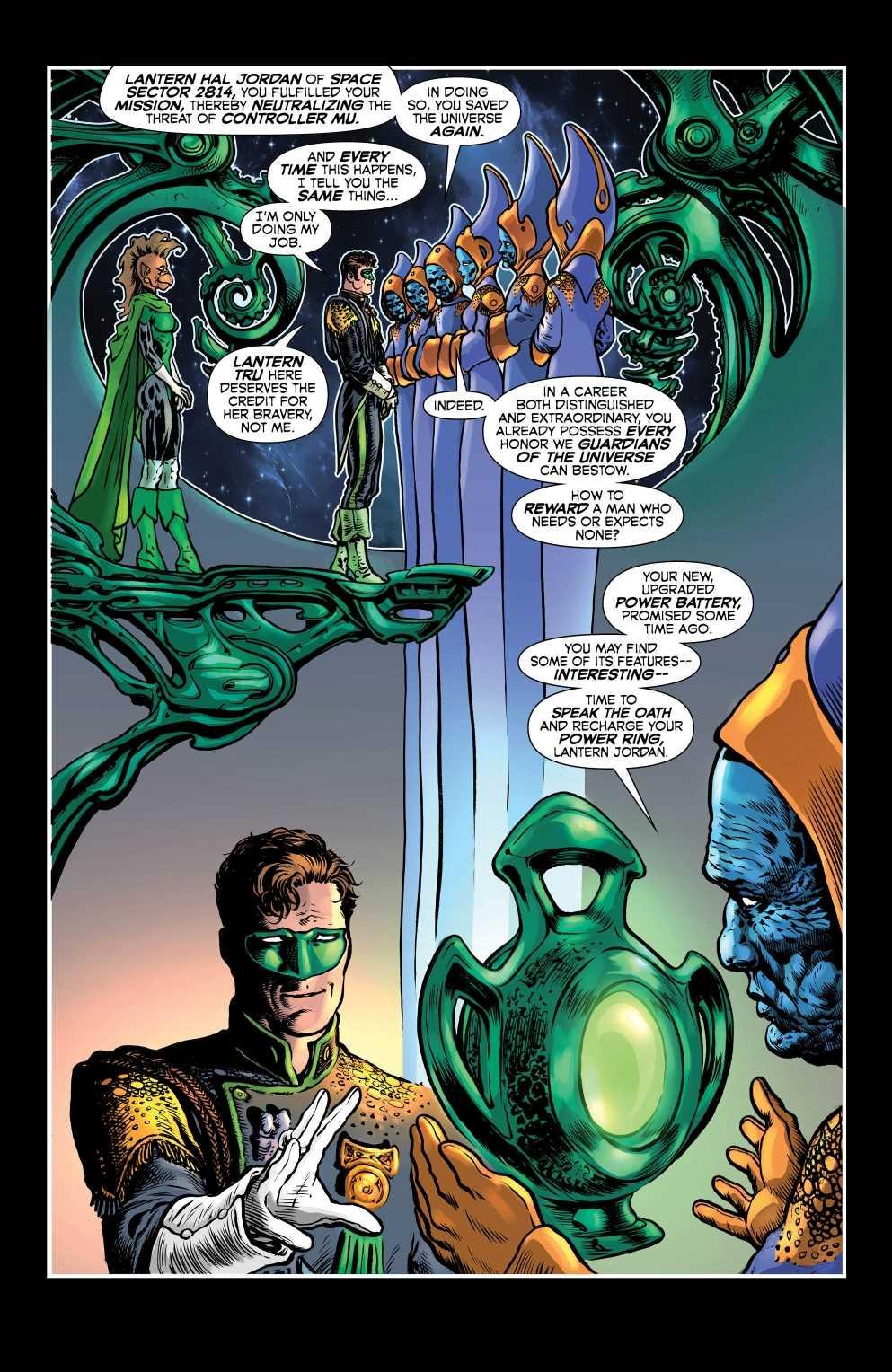 Green Lantern Grant Morrison Liam Sharp Hal jordan DC Comics Lanterna Verde