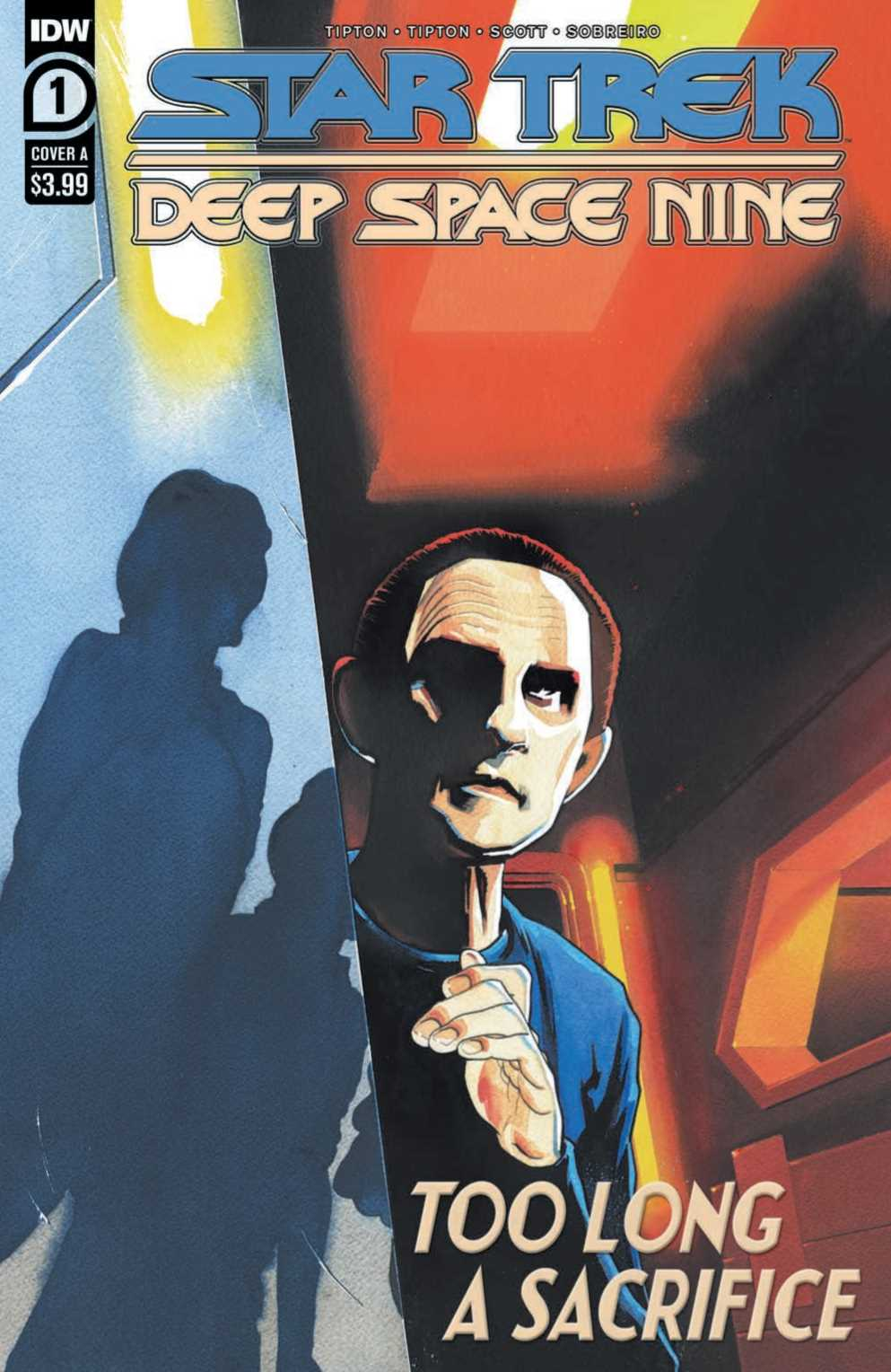 STAR TREK: TOO LONG A SACRIFICE #1 cover by Ricardo Drumond