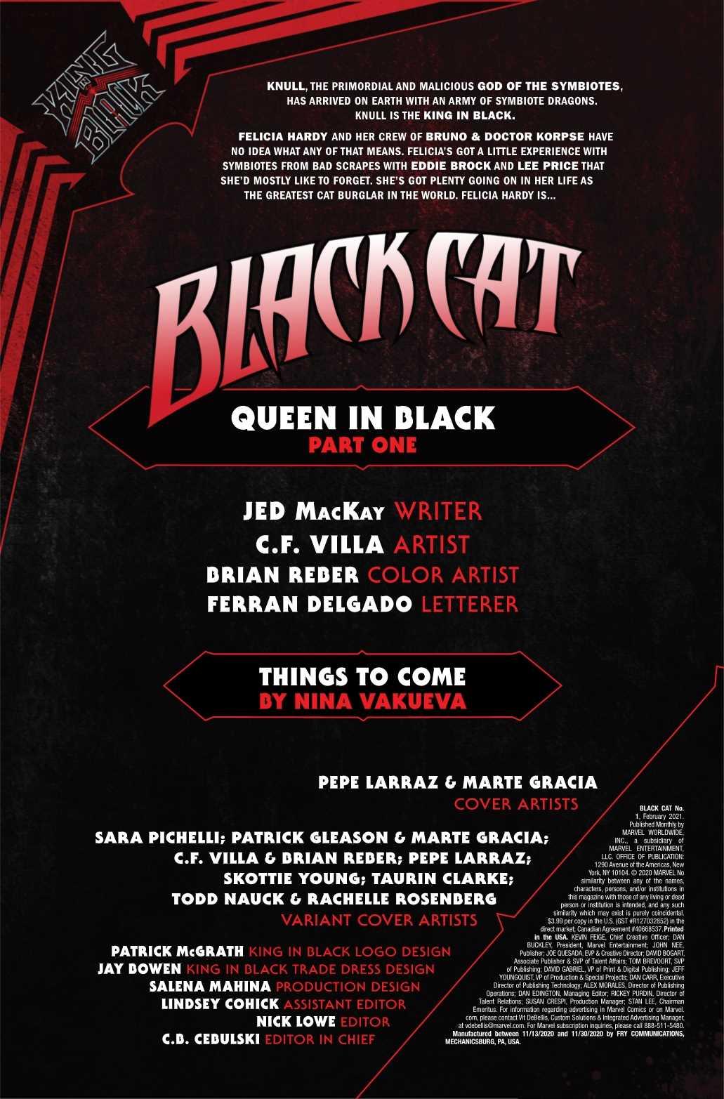 BLACK CAT #1 CLARKE KNULLIFIED VAR KIB
