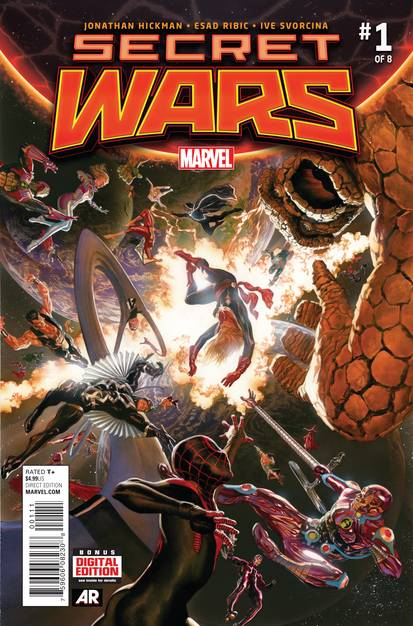 Secret Wars #1 Marvel Comics