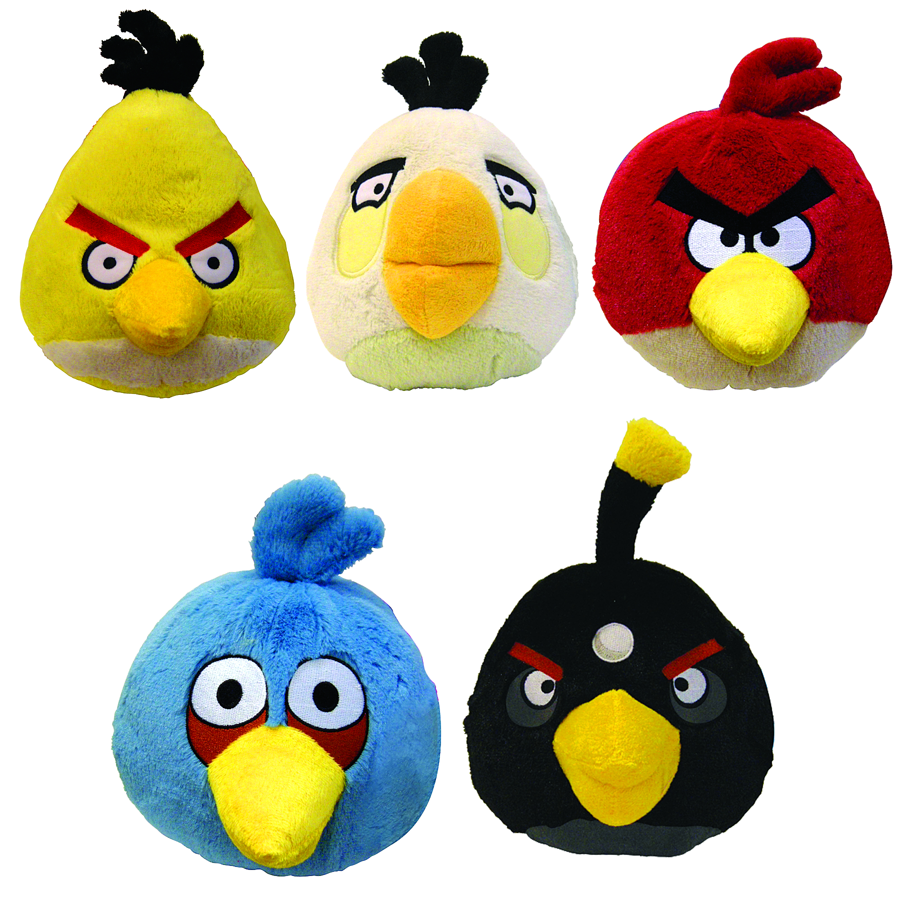 Angry Birds Toys With Sound : Previewsworld angry birds in plush w sound asst net
