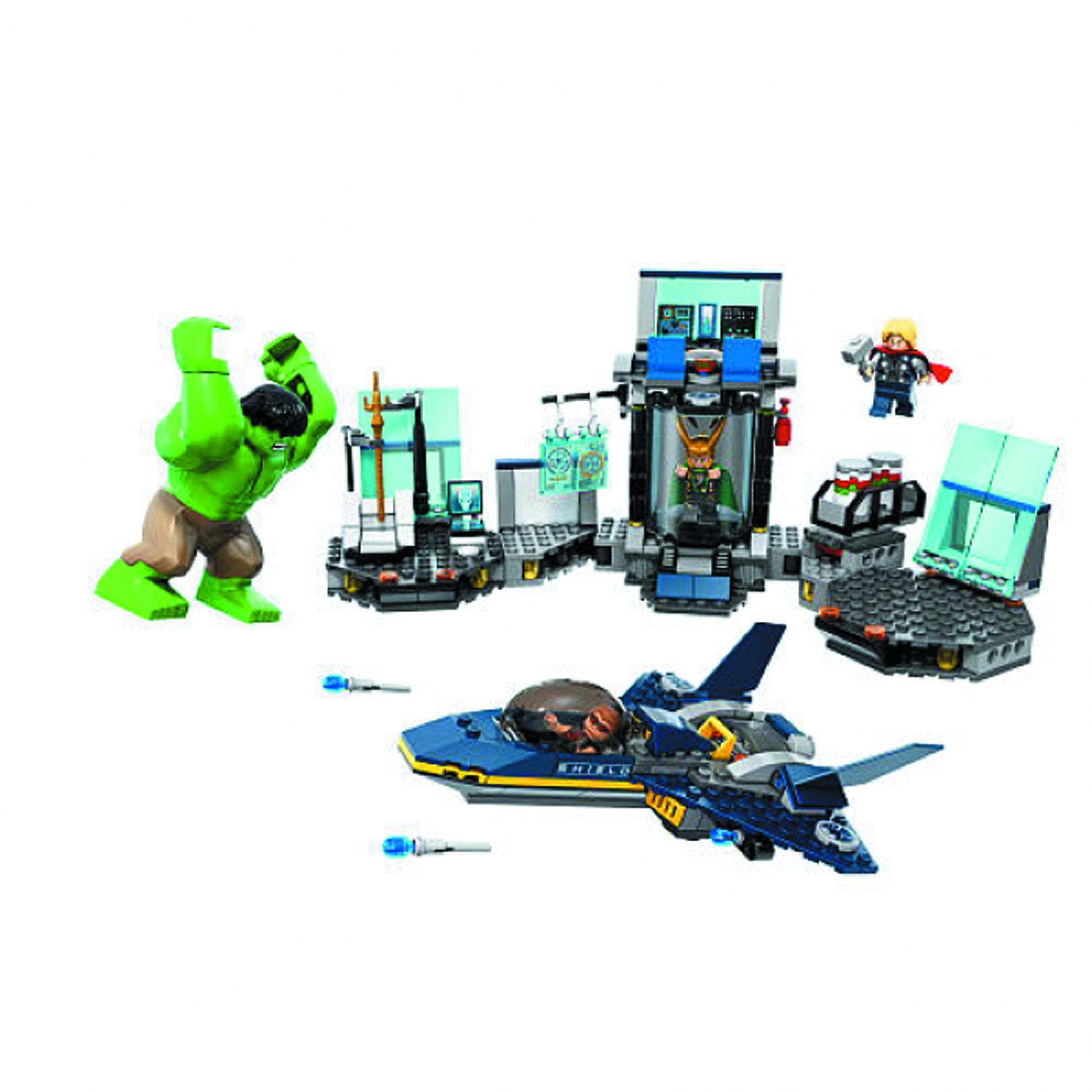 PREVIEWSworld - LEGO MARVEL HULK HELICARRIER BREAKOUT SET ...