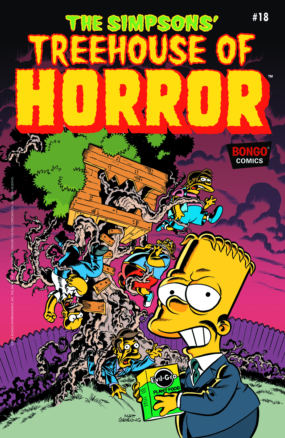 PREVIEWSworld - SIMPSONS TREEHOUSE OF HORROR #18