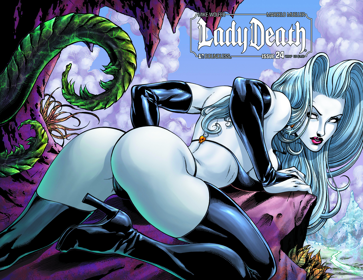 Lady death naked sexy scenes