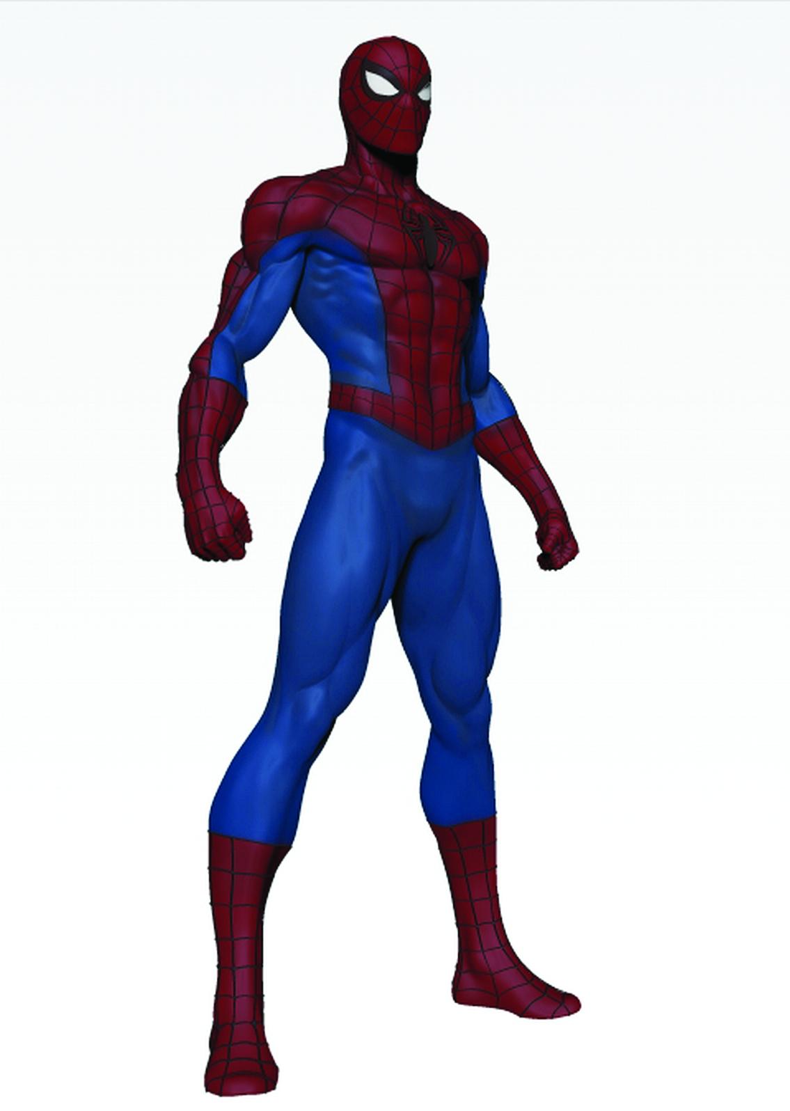 Spiderman cartoon standing - photo#3