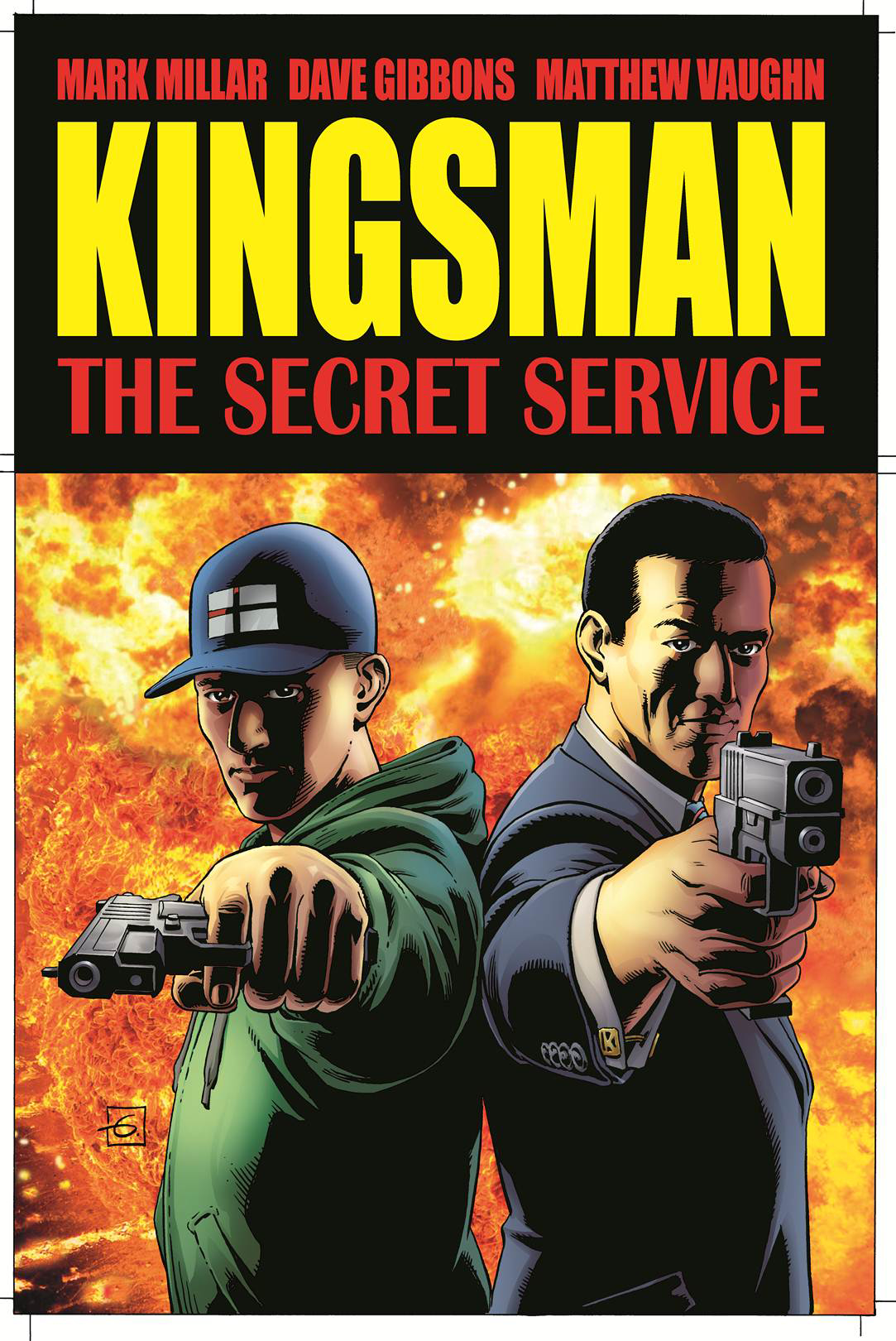 Comic book the secret service