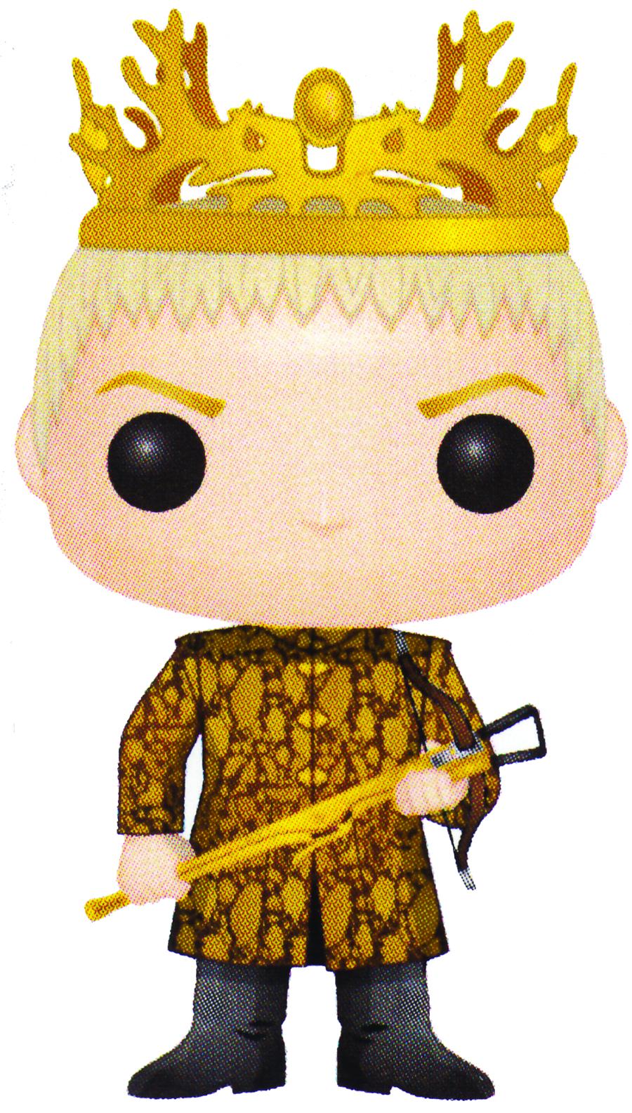 Previewsworld Pop Game Of Thrones Joffrey Vinyl Fig C