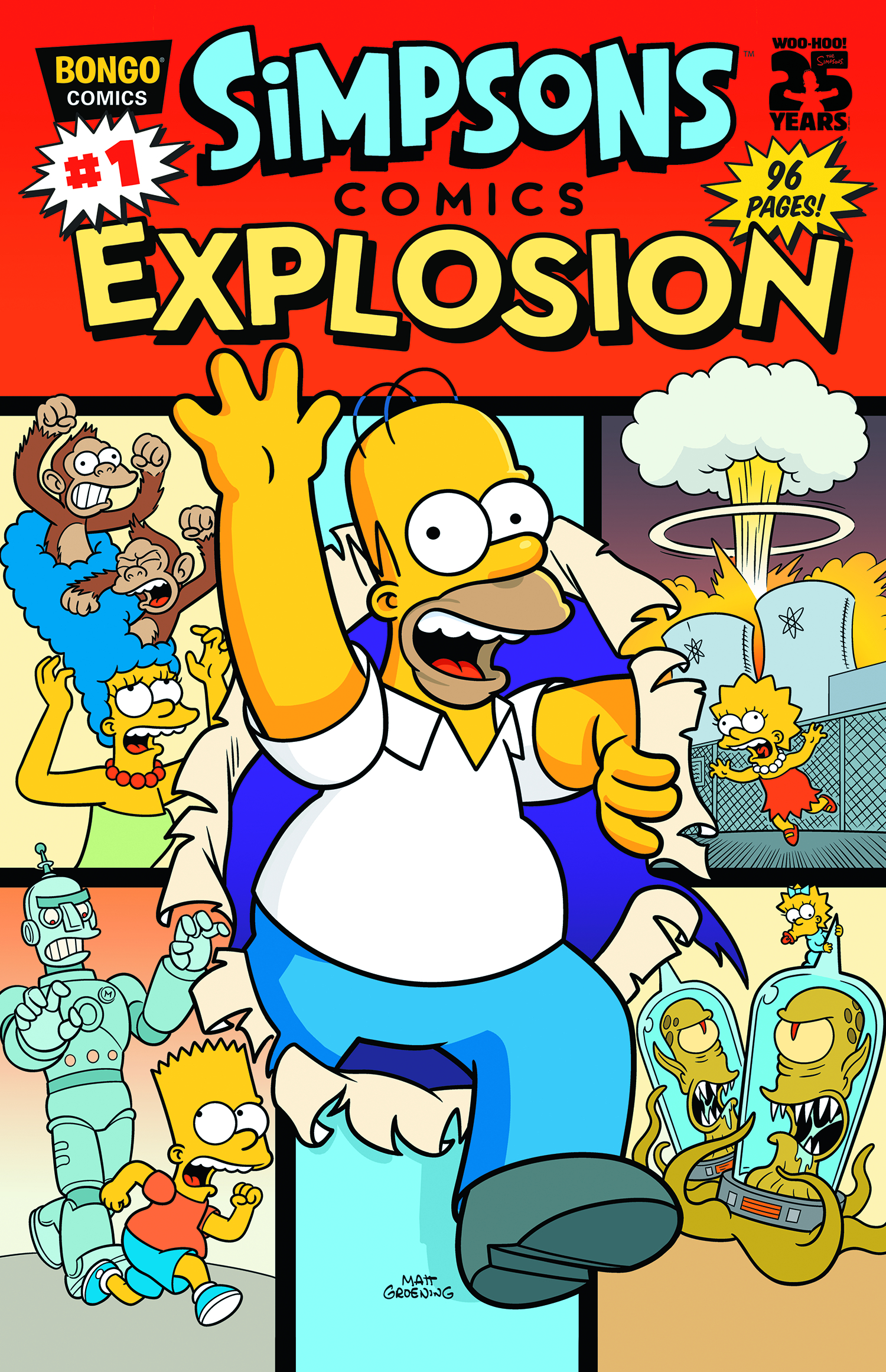 PREVIEWSworld - SIMPSONS COMICS EXPLOSION #1
