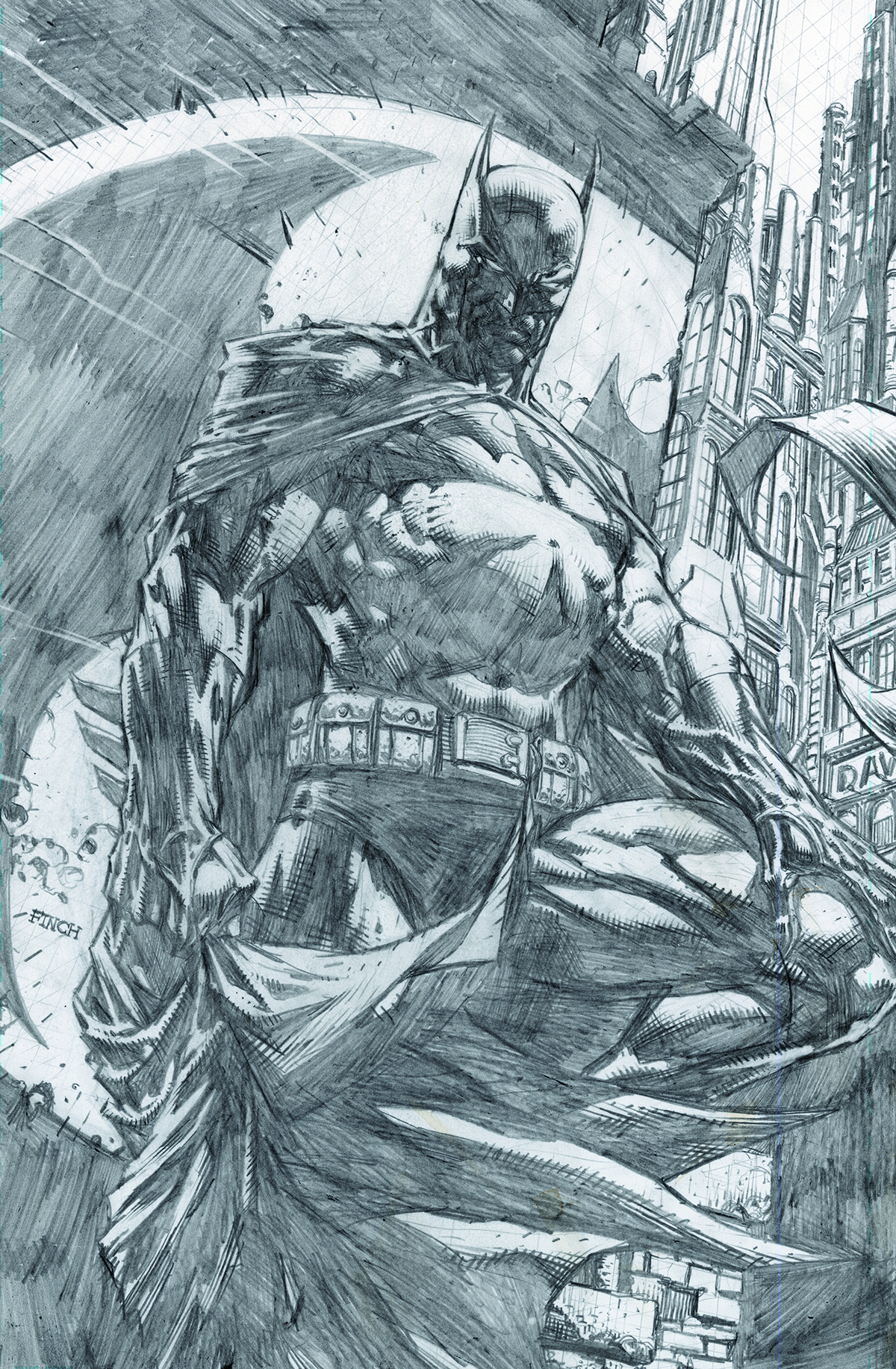 PREVIEWSworld - BATMAN DARK KNIGHT UNWRAPPED DAVID FINCH ...