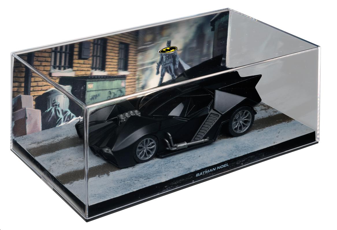 PREVIEWSworld - DC BATMAN AUTO FIG MAG #61 NOEL BATMOBILE (C: 0-1-2)