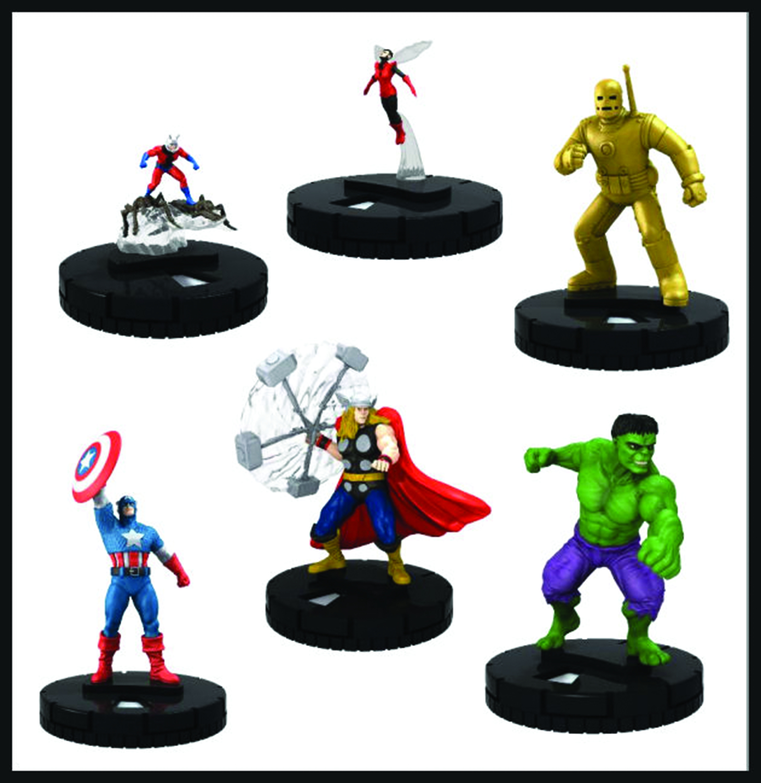Free Comic Book Day Heroclix: MARVEL HEROCLIX CLASSIC AVENGERS FAST