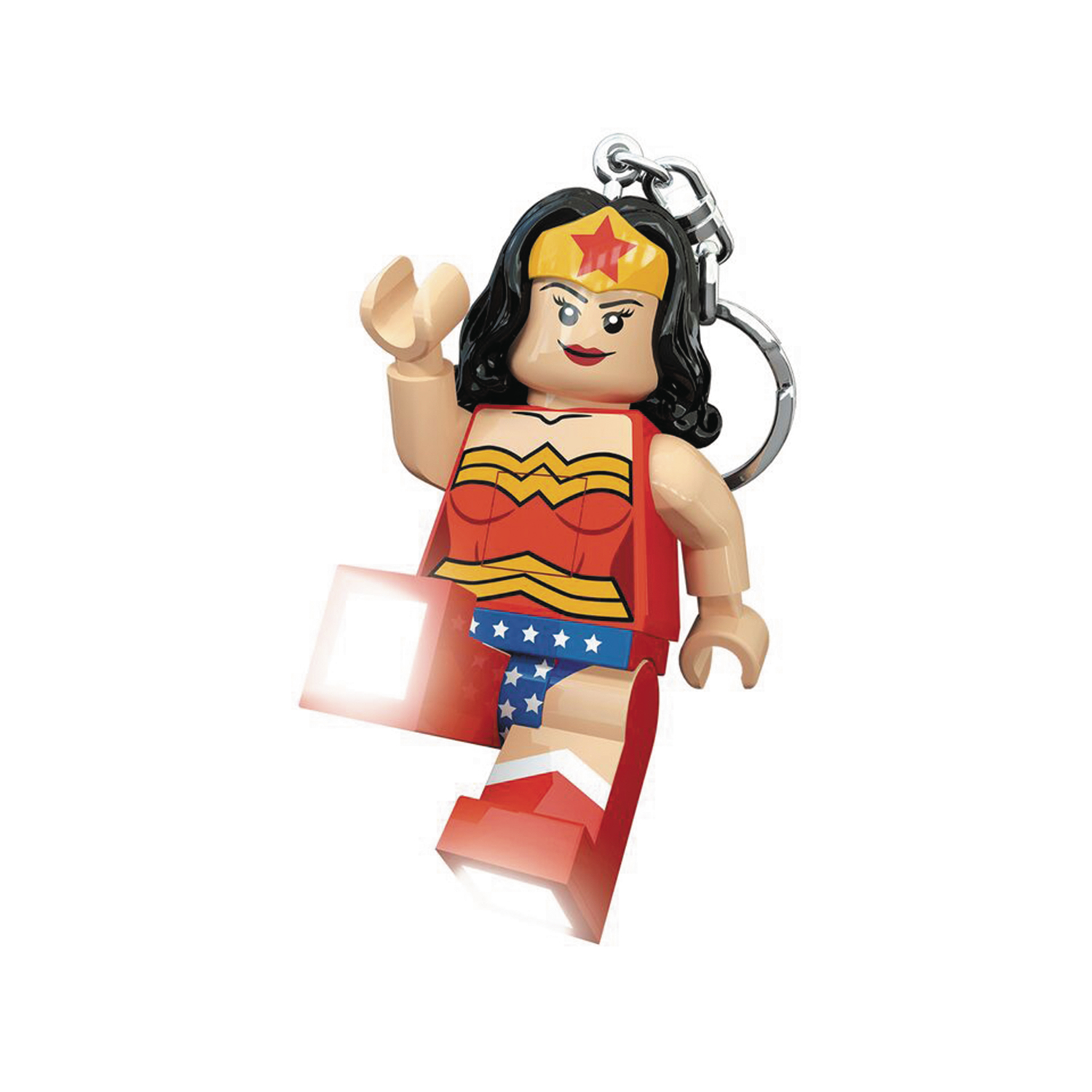 PREVIEWSworld - LEGO WONDER WOMAN KEYCHAIN LED LITE