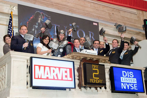 MarvelThorAtNYSE_1