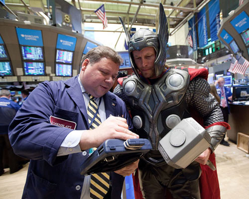 MarvelThorAtNYSE_3